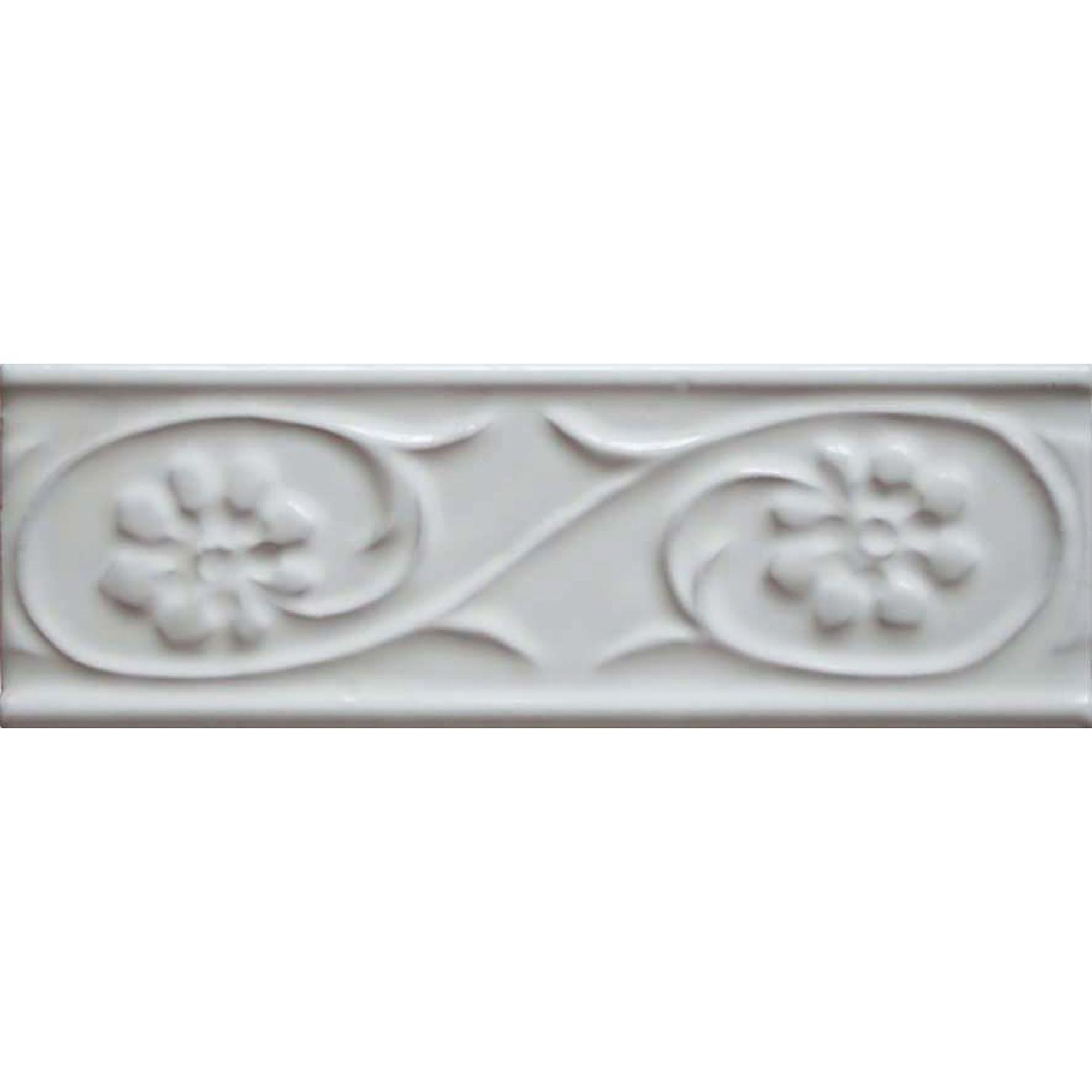 Купить Бордюр Bellavista Biselados Blanco 5x15 см, бордюр, Испания, белый, керамика