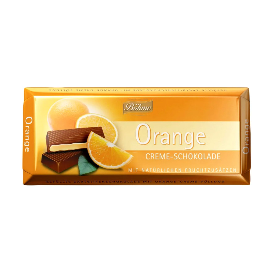 Шоколад Bohme темный с апельсином 100 г gernot bohme ethics in context