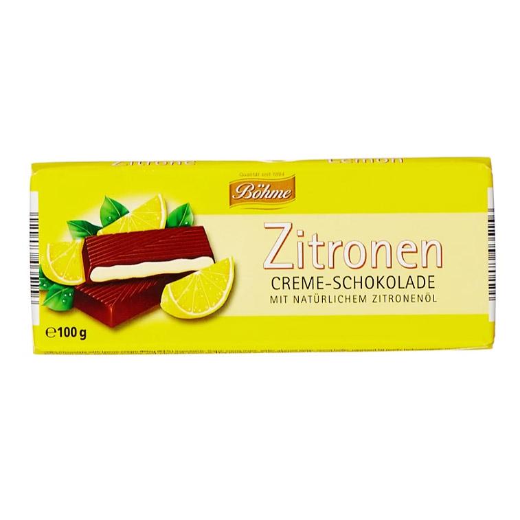 Шоколад Bohme с лимонной начинкой 100 г gernot bohme ethics in context
