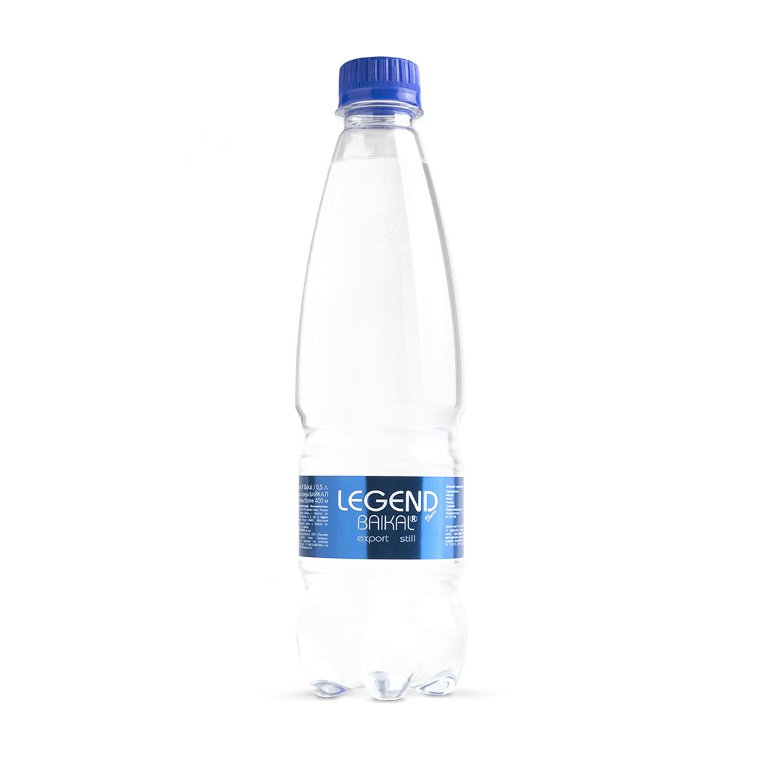 Вода питьевая Legend of Baikal глубинная негазированная 500 мл недорого