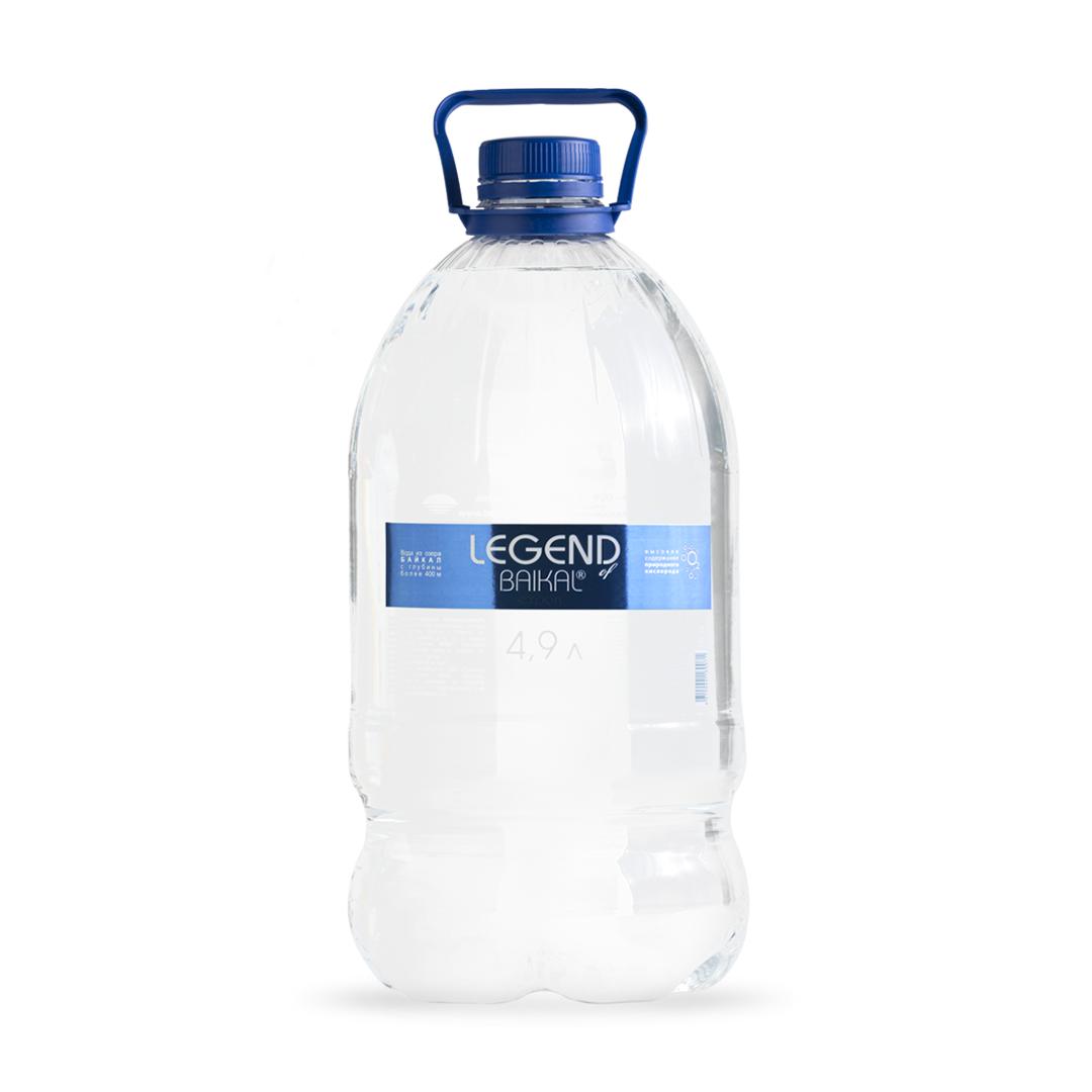 Вода питьевая Legend of Baikal глубинная негазированная 4,9 л недорого
