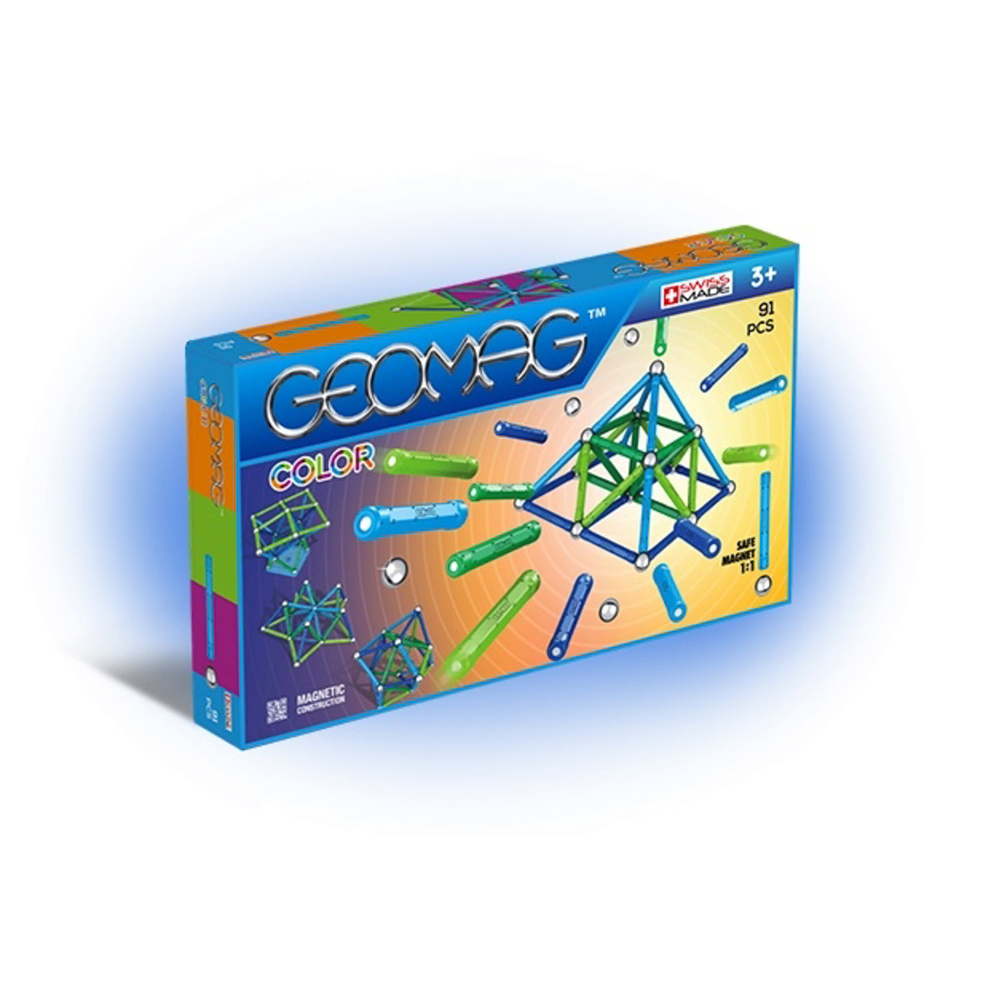 Конструктор магнитный Geomag Color 263