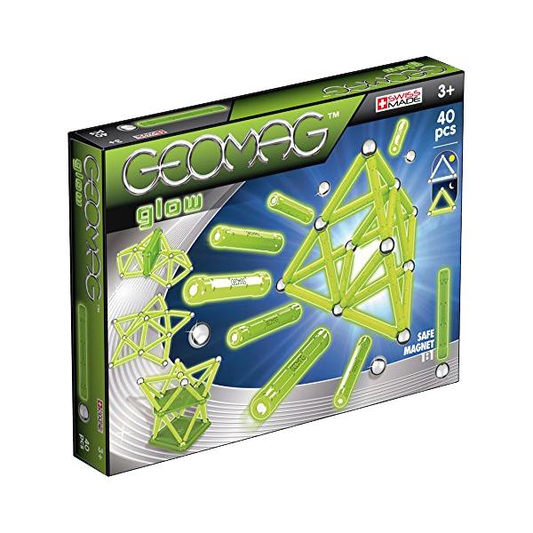 Купить Конструктор GEOMAG Glow 330, Швейцария, магнит, металл, пластик, универсальный, Конструкторы, пазлы