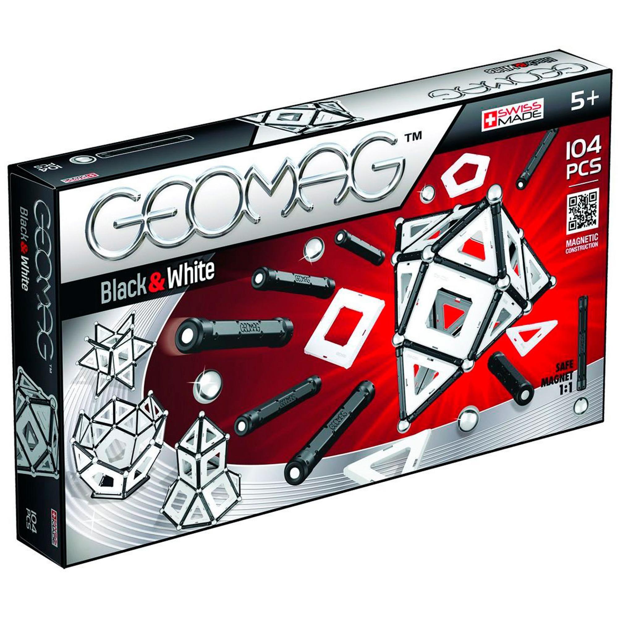 Конструктор магнитный Geomag Black and White 013.