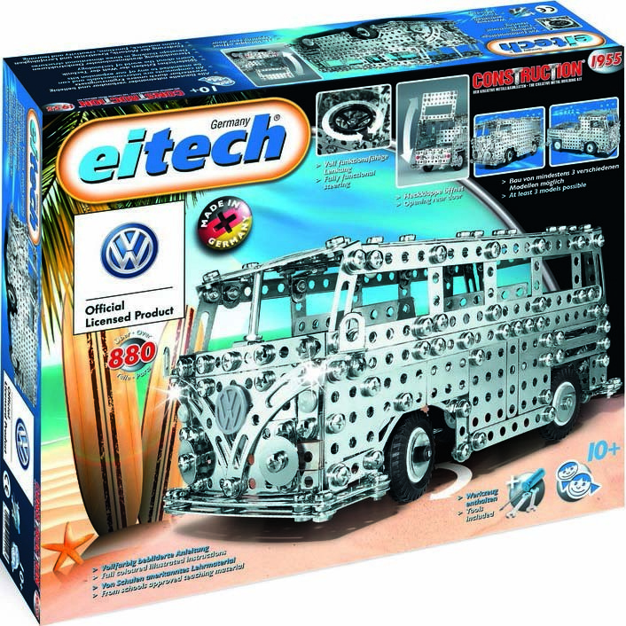 Купить Конструктор Eitech Автобус, Германия, металл, для мальчиков, Конструкторы, пазлы