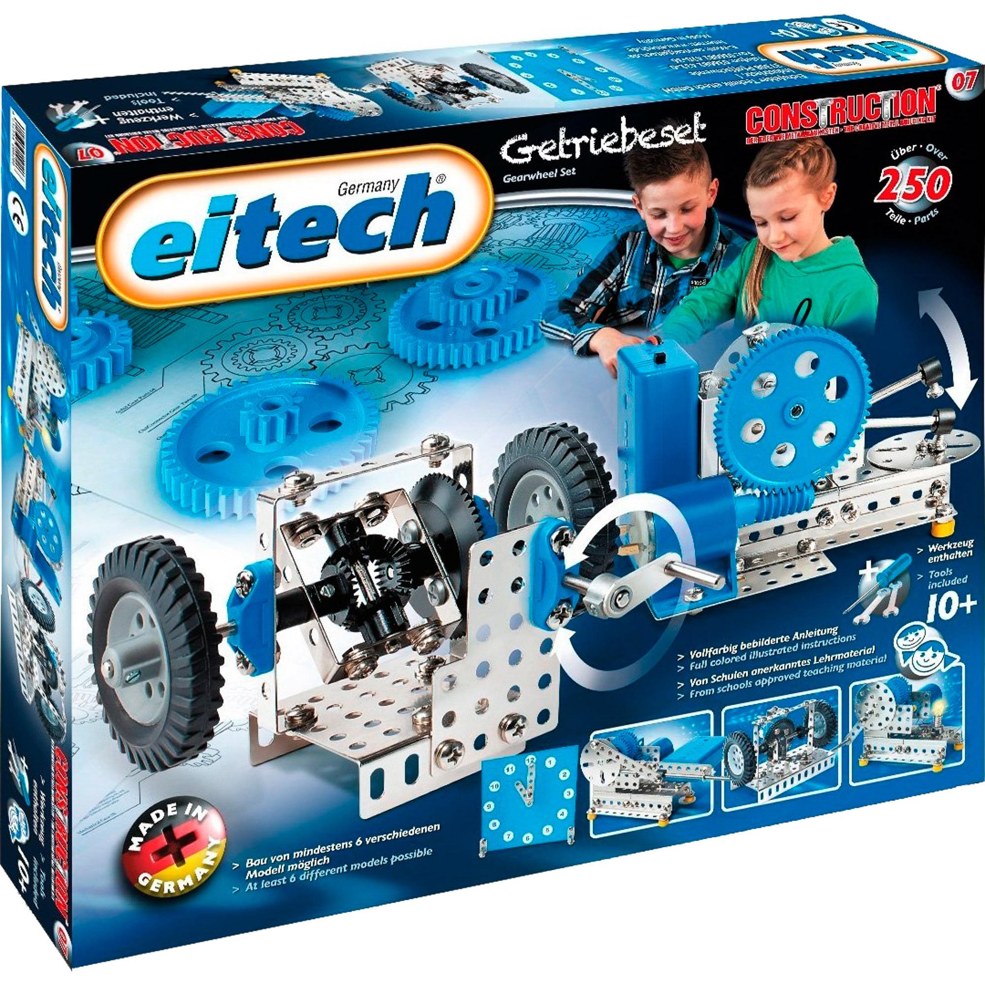 Конструктор Eitech Механик конструктор eitech exclusive c12 космический челнок