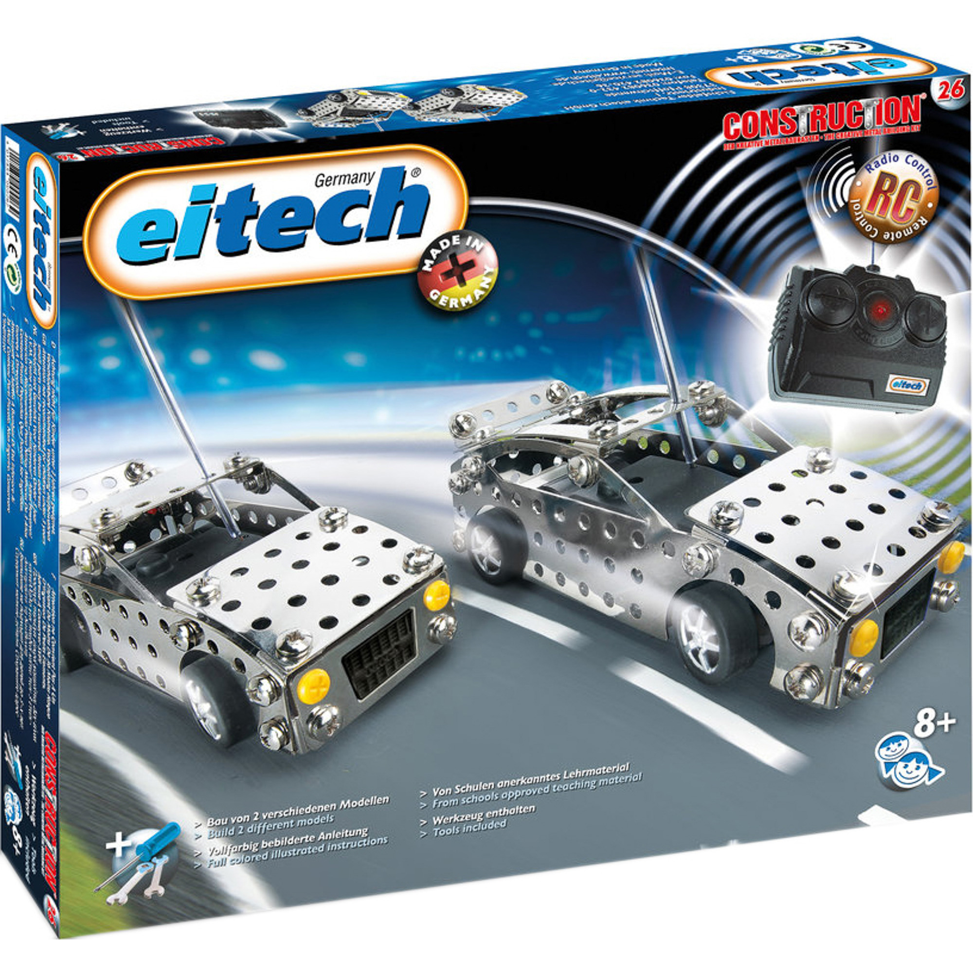 Конструктор Eitech Автомобиль на радиоуправлении фото