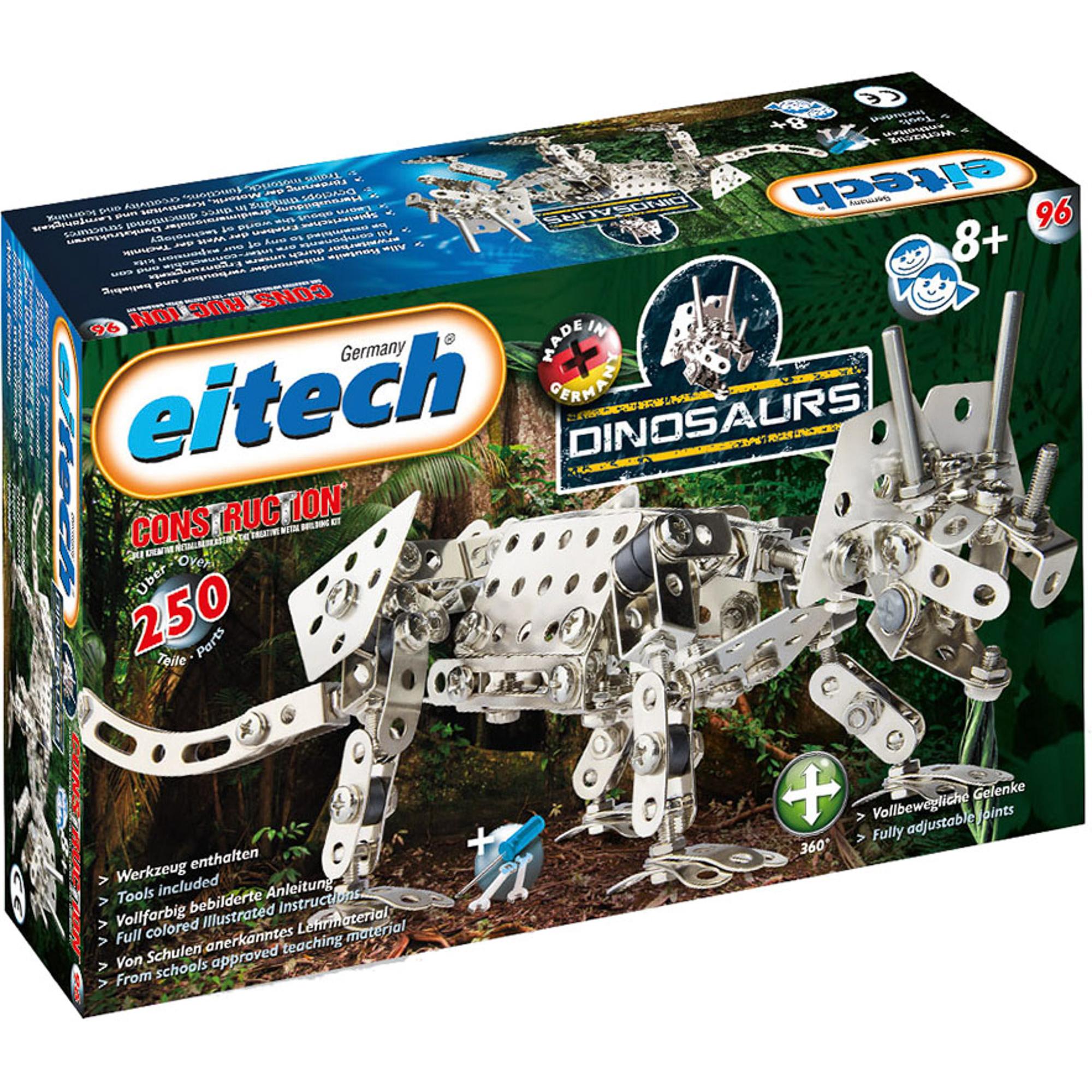Конструктор Eitech Динозавр-Трицератопс 96 фото