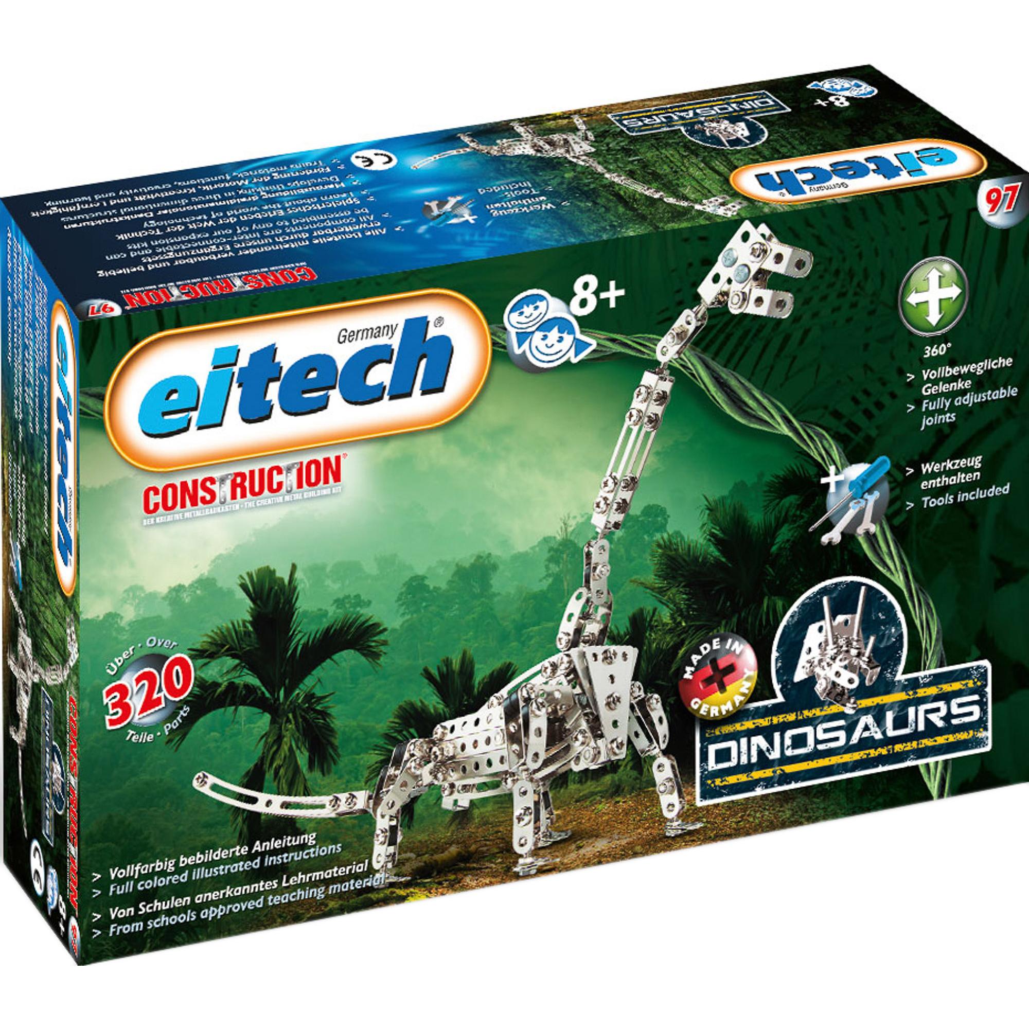 Купить Конструктор Eitech Динозавр Брахиозавр, Германия, металл, универсальный, Конструкторы, пазлы