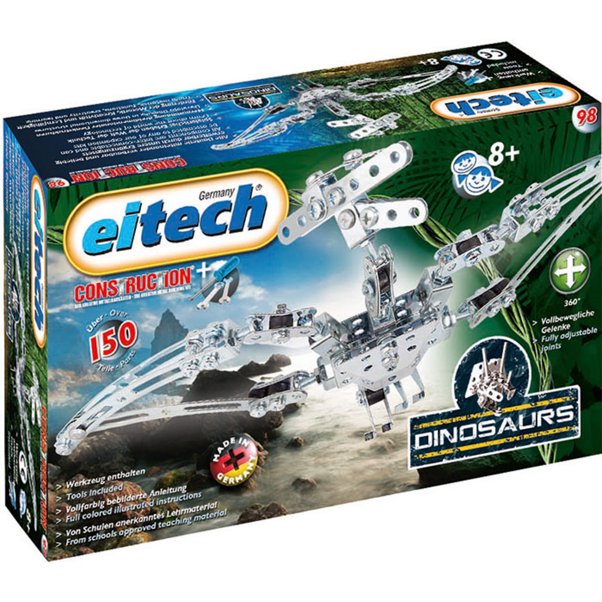 Купить Конструктор Eitech Птеродактиль 98, Германия, металл, универсальный, Конструкторы, пазлы