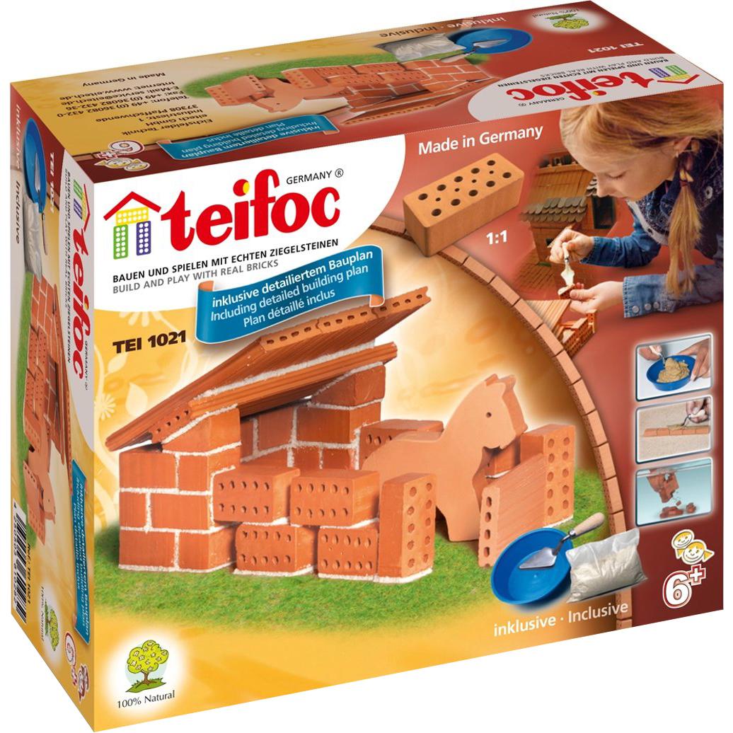 Купить Строительный набор Teifoc Конюшня, керамика, универсальный, Конструкторы, пазлы