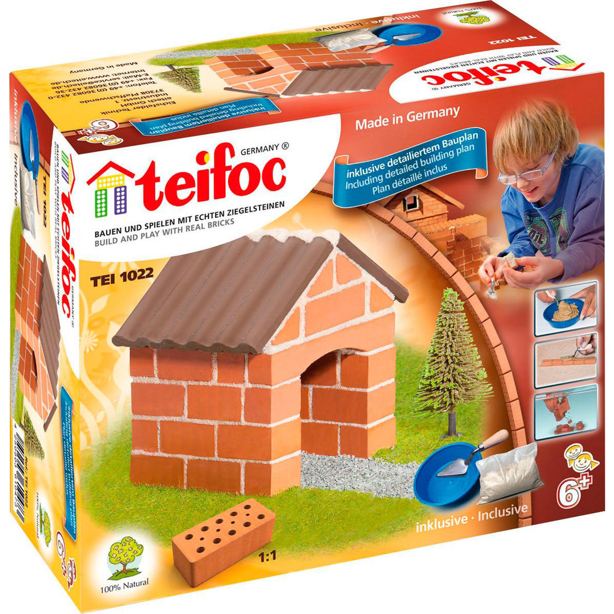 Купить Игровой набор TEIFOC Коттедж TEI 1022, Германия, Глинянный кирпич, Наборы игровые