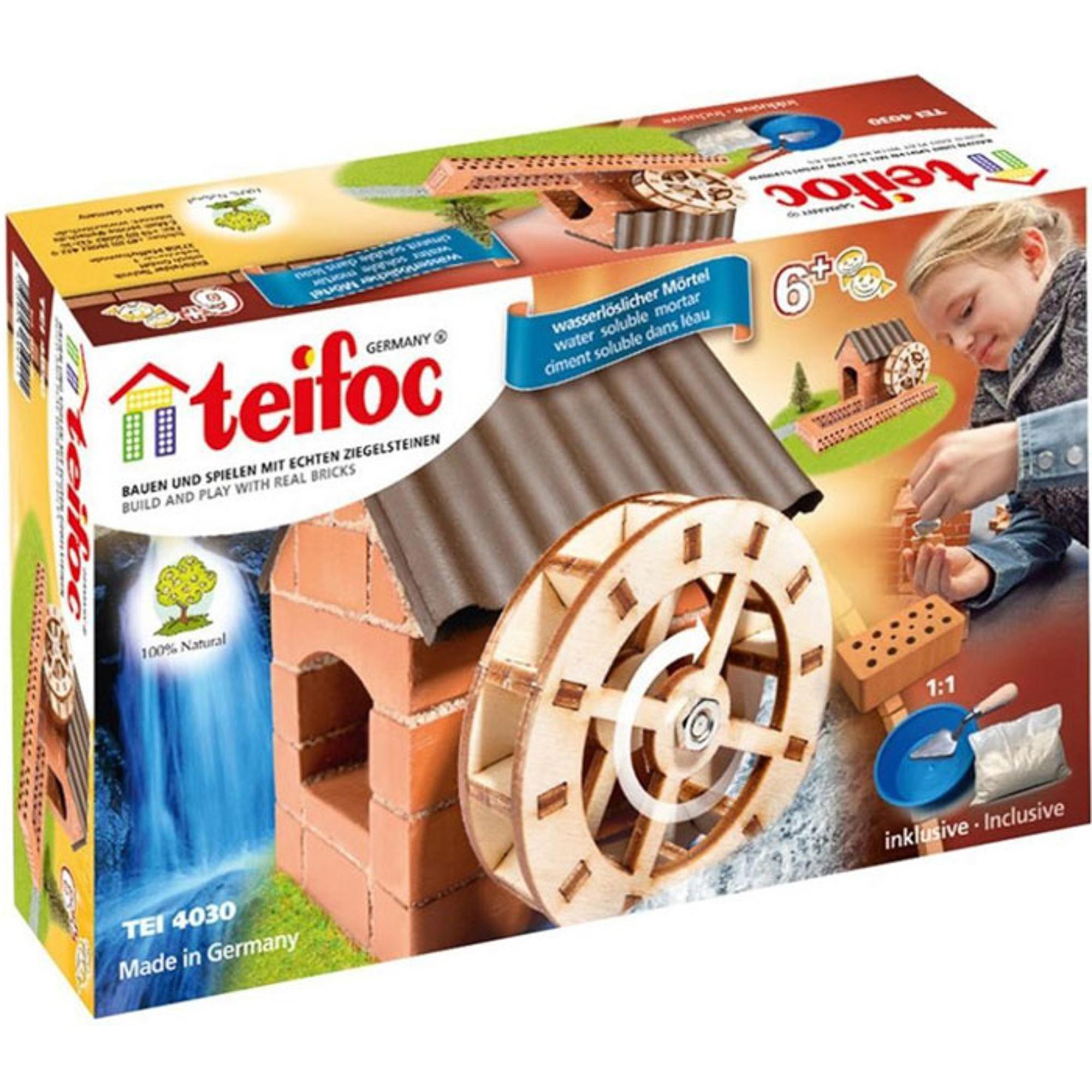 Игровой набор TEIFOC Водяная мельница TEI 4030 фото