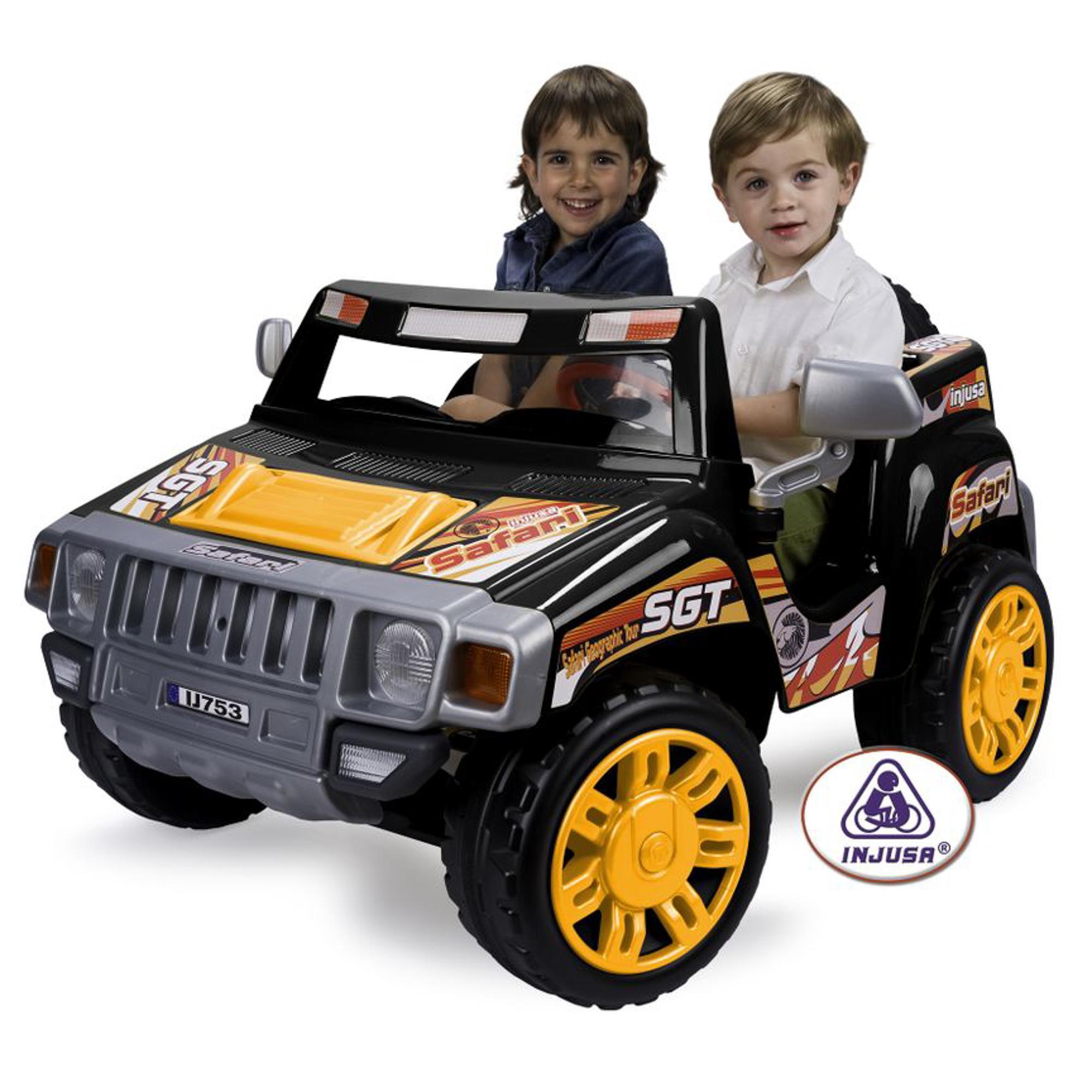 Электромашина детская two safari pick up Injusa 753/007 фото