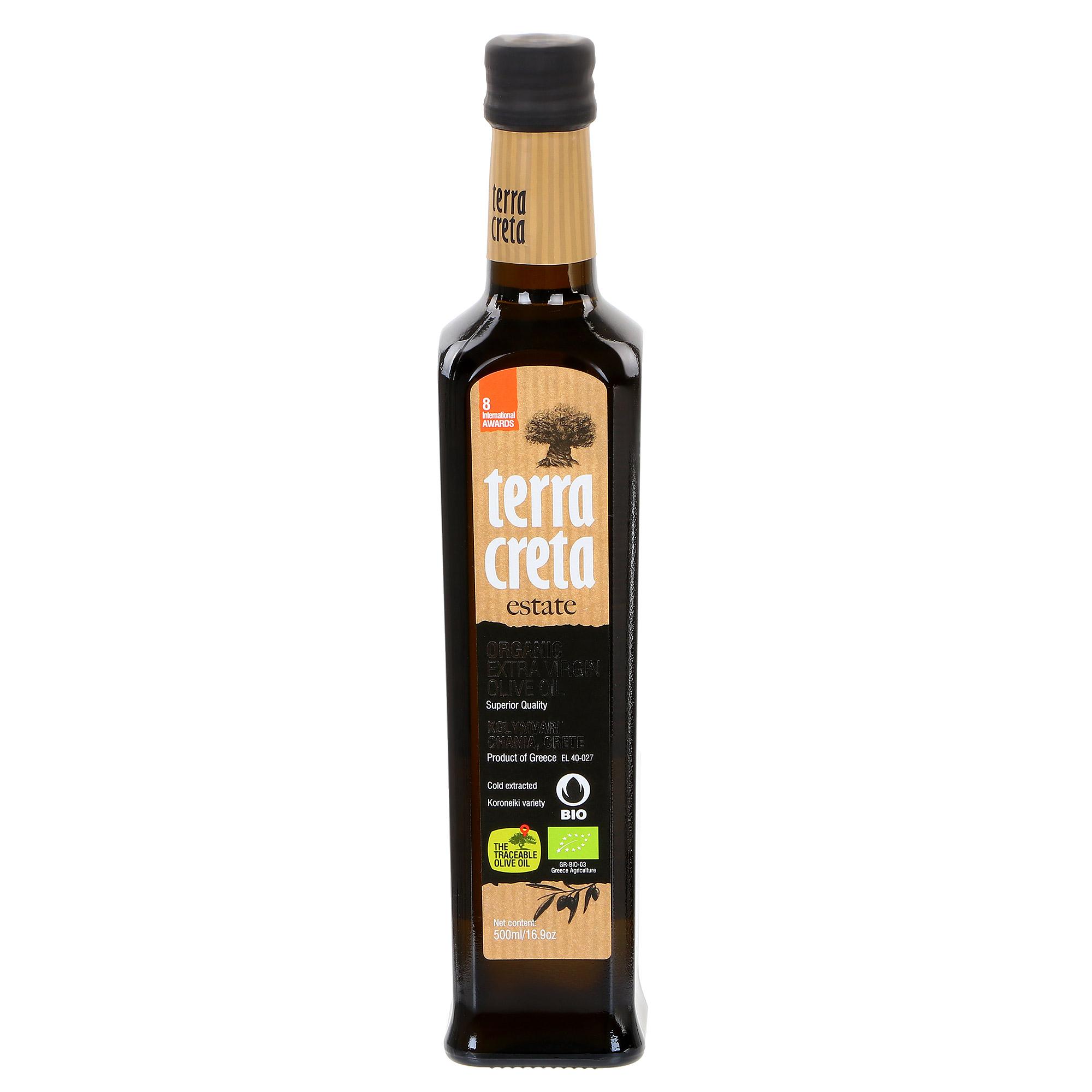 Масло оливковое Terra Creta Extra Virgin 500 мл фото