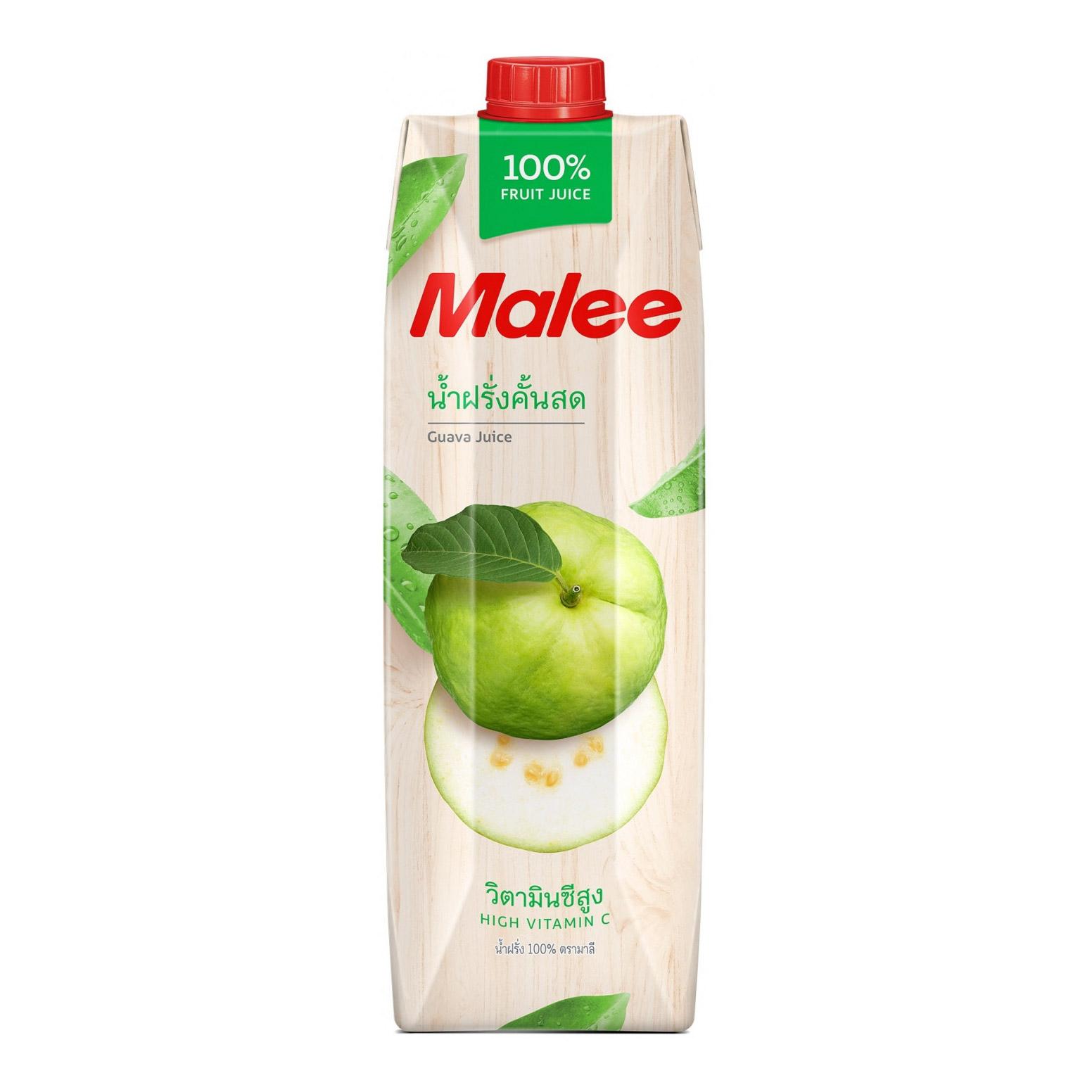 Cок Malee гуава прямого отжима 1 л malee напиток кокосовое молоко 0 33 л