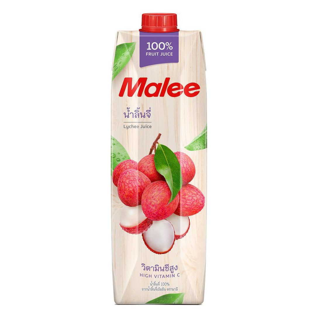 Cок Malee личи 1 л malee напиток кокосовое молоко 0 33 л