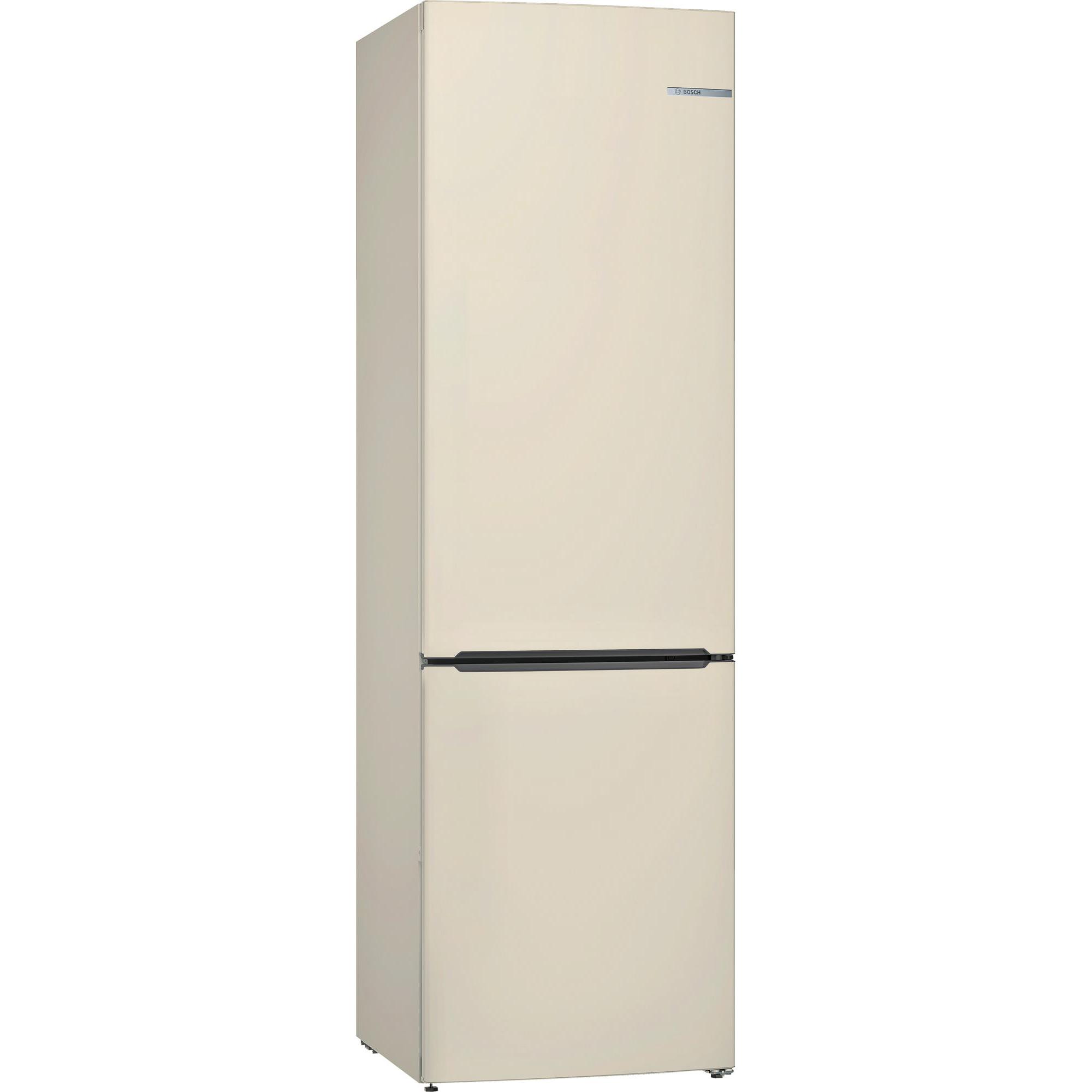 Холодильник BOSCH KGV39XK21R бежевый холодильник bosch kgn36nk2ar