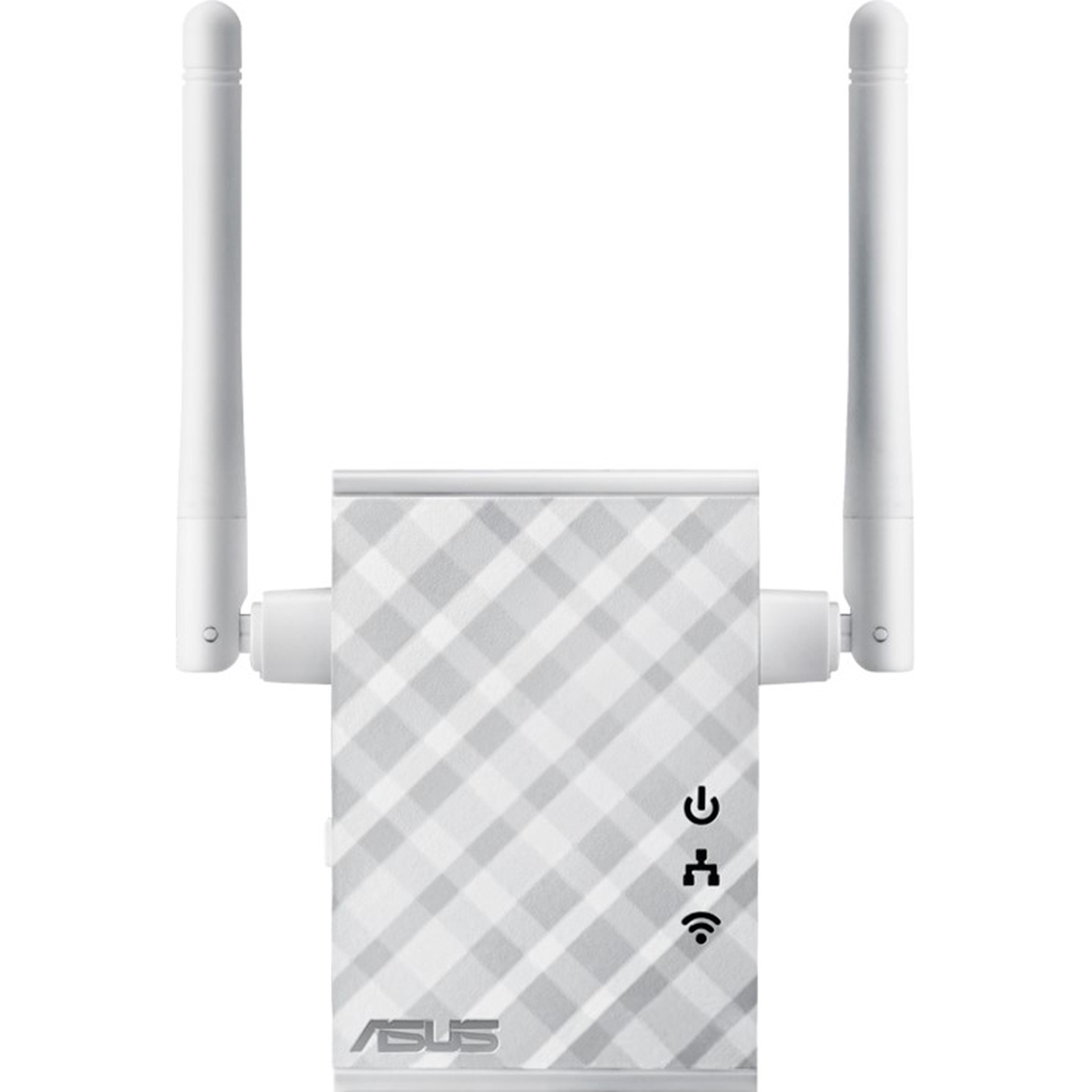 Повторитель сигнала ASUS RP-N12 повторитель беспроводного сигнала asus rp ac51 белый