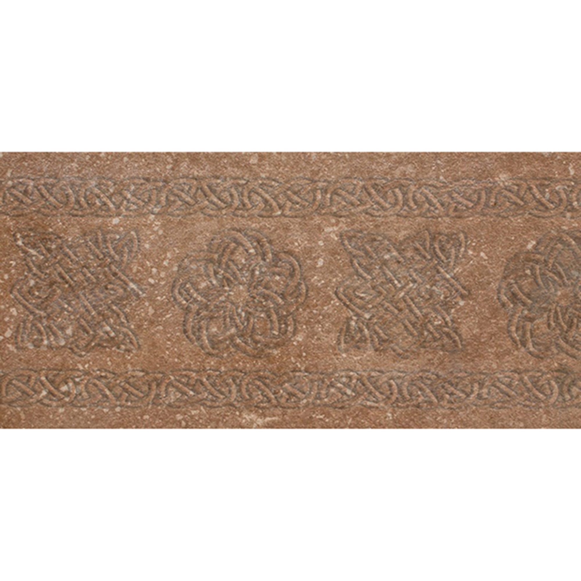 Декор-подступенник Exagres Stone Brown 15x33 см