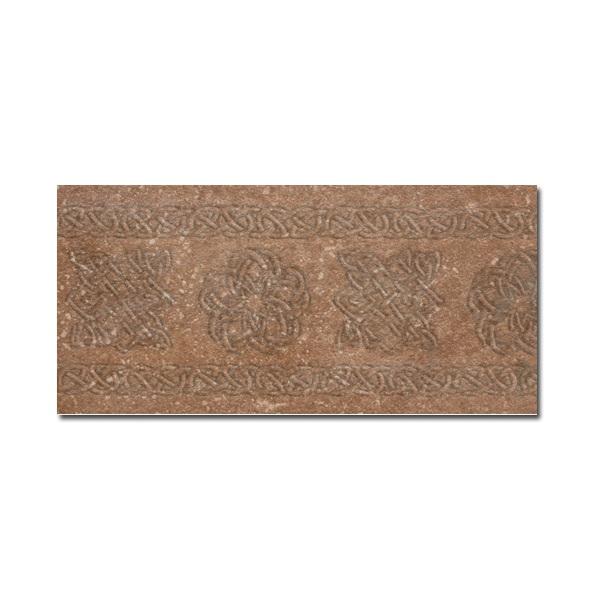 Декор-подступенник Exagres Stone Ocre 15x33 см