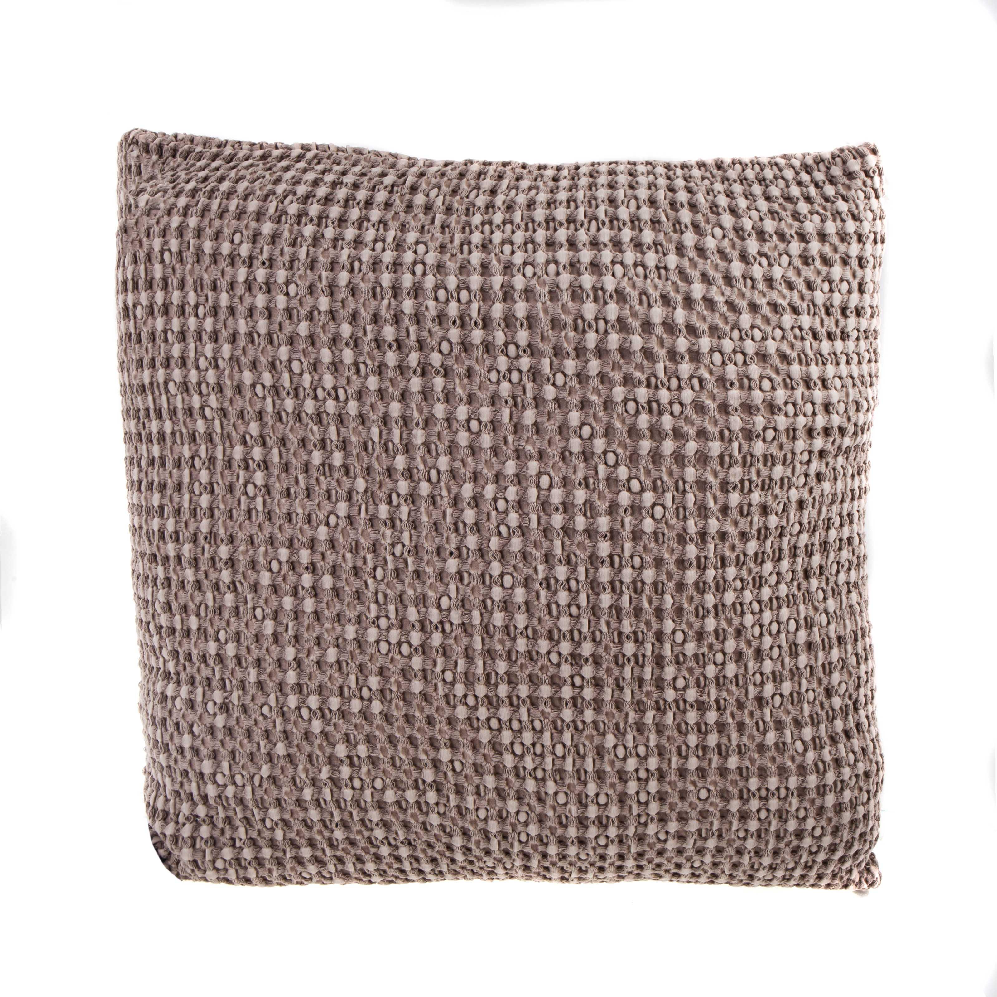 Подушка декоративная 60х60 Бежевая Laroche