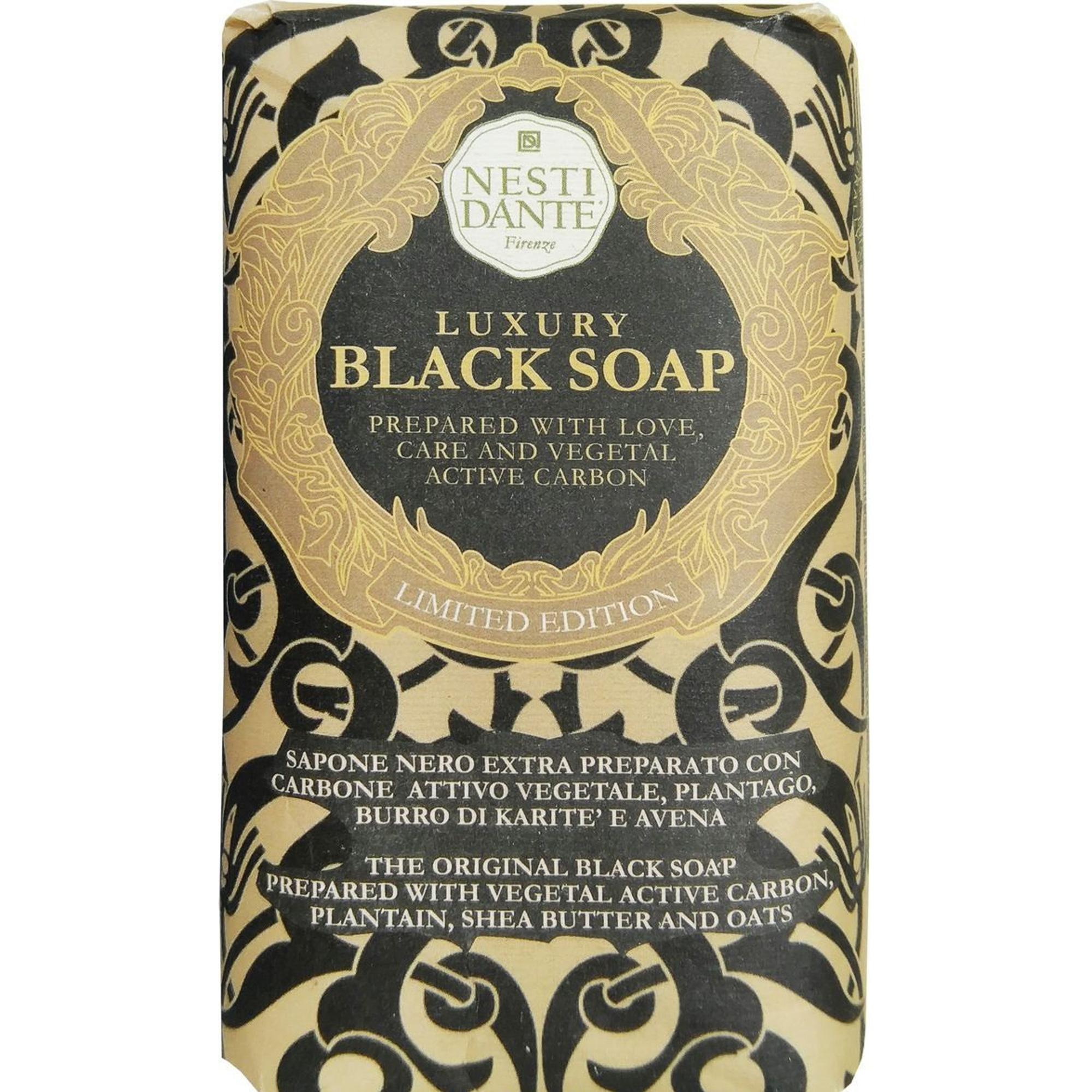 Мыло роскошное чёрное. 250г Nesti dante мыло юбилейное золотое 250г nesti dante