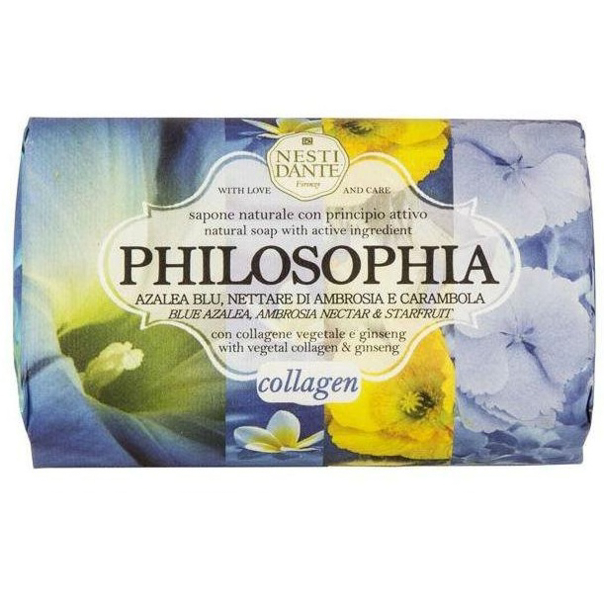 Мыло философия коллаген 250г Nesti dante мыло юбилейное золотое 250г nesti dante