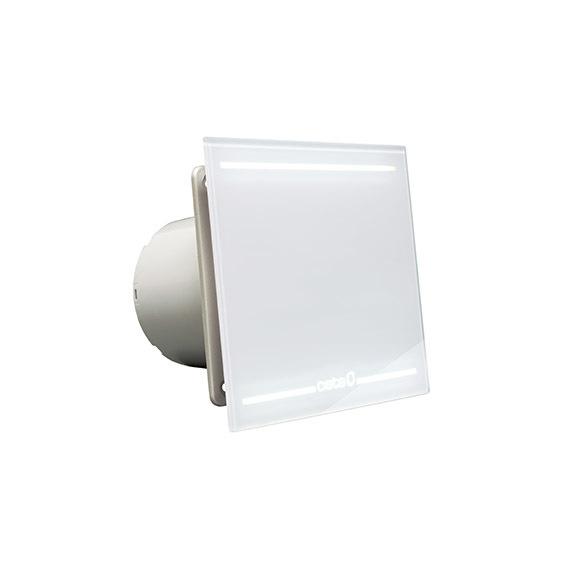 Вентилятор e-100 glt light. Стекло. Свет CATA вентилятор e 100 gbk стекло черный cata