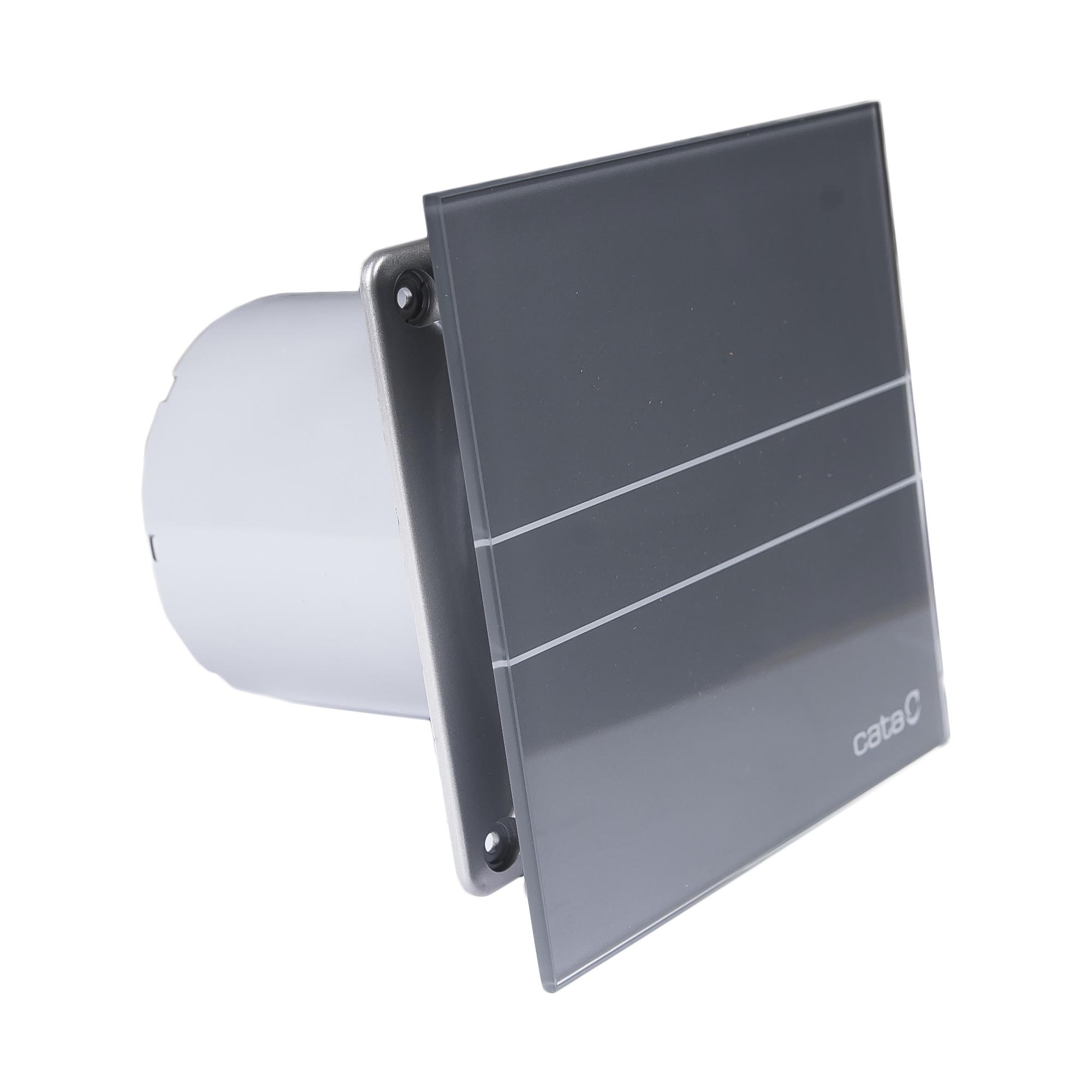 Вентилятор e-100 gs. Стекло. Серый CATA вентилятор e 100 gbk стекло черный cata