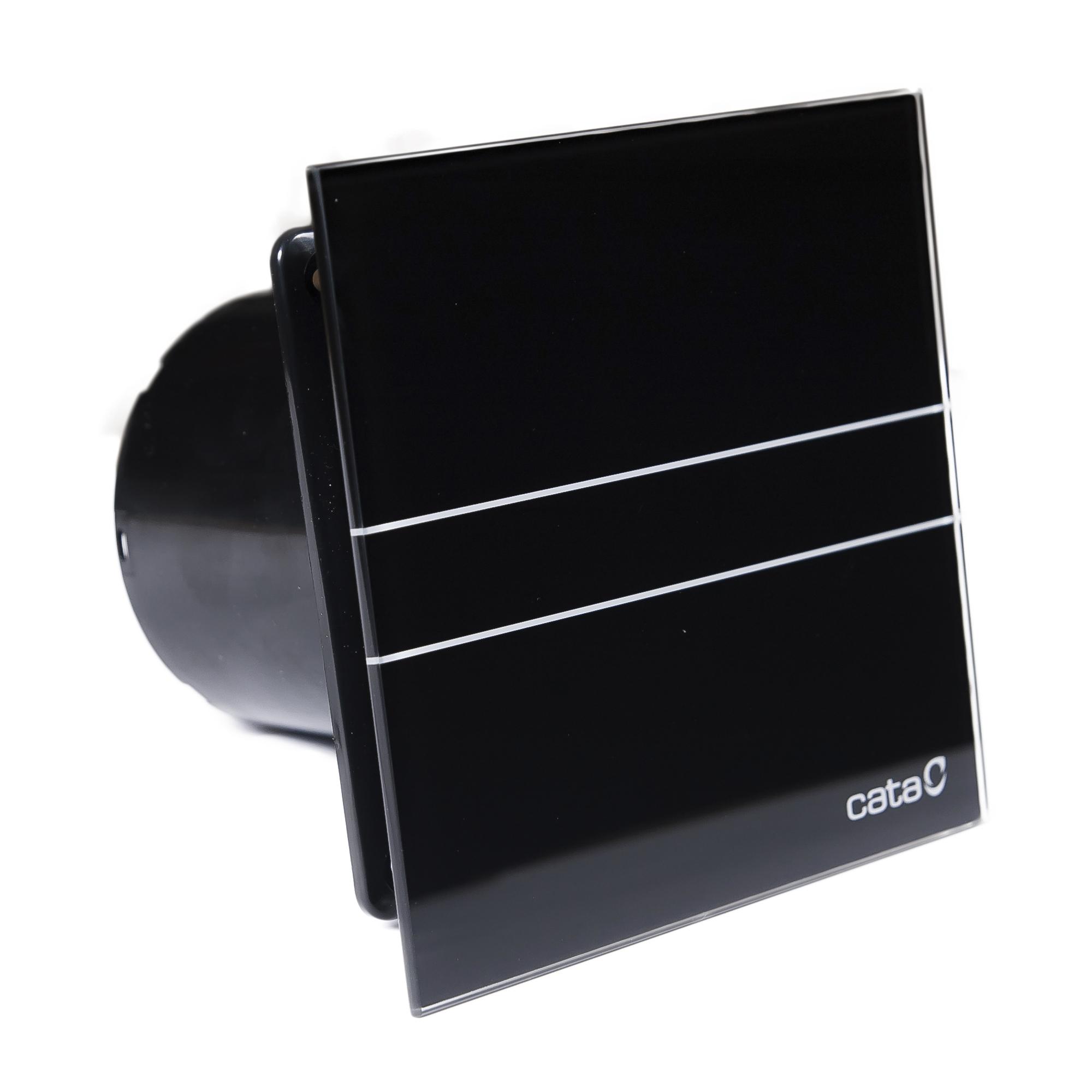 Вентилятор e-100 gbk стекло. Черный CATA вентилятор e 100 gbk стекло черный cata