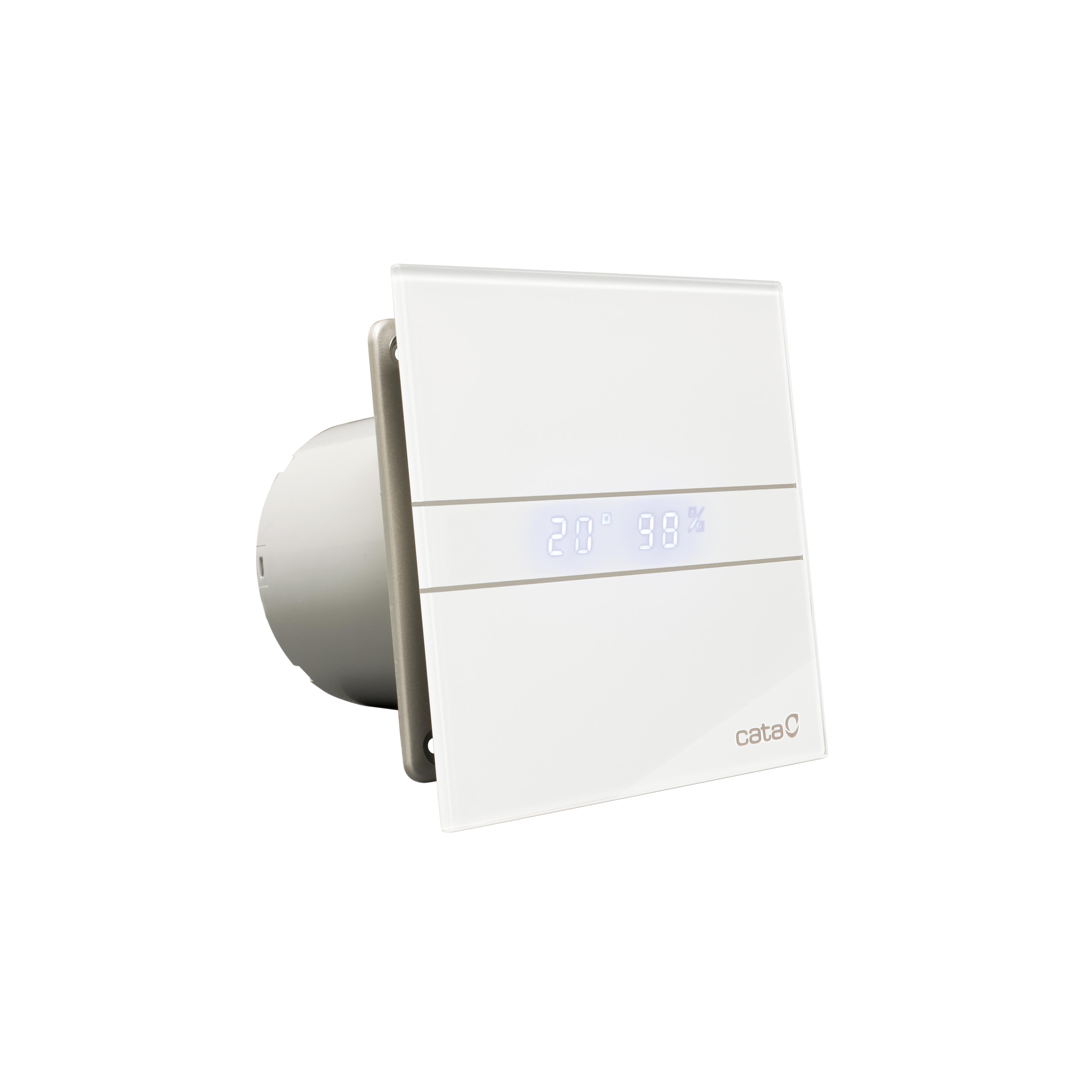 Вентилятор e-100gth. Для влажн. Табло CATA вентилятор e 100 gbk стекло черный cata