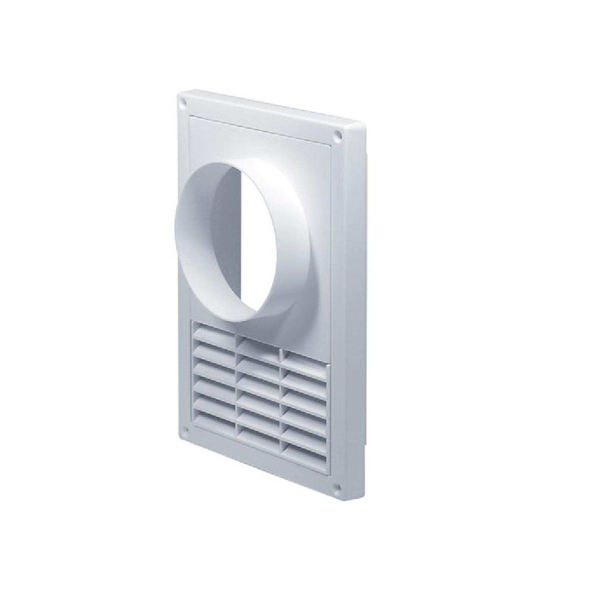 решетка дверная вентиляционная awenta t 73 d45 мм цвет коричневый 2 шт Решетка вентиляционная T-68. 16х23. Фланец. D=100 AWENTA