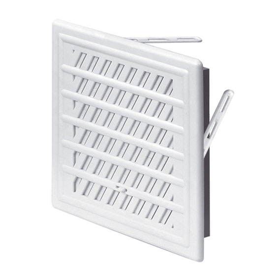 решетка дверная вентиляционная awenta t 73 d45 мм цвет коричневый 2 шт Решетка вентиляционная T-94. 16х23. Жалюзи AWENTA