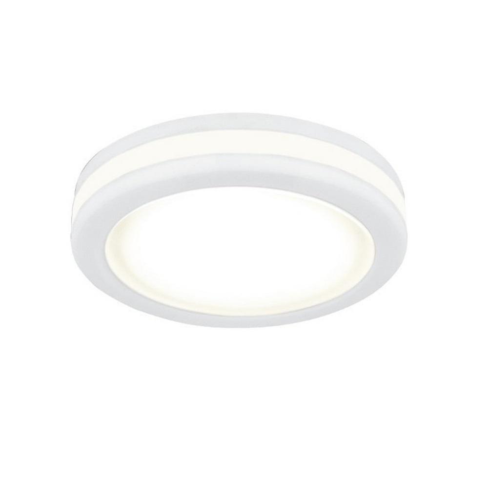 Светильник Gauss Backlight BL102 Круглый, Белый, 8W, LED, 3000K