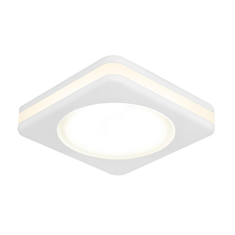 Светильник Gauss Backlight BL104 Квадратный, Белый, 8W, LED, 3000K