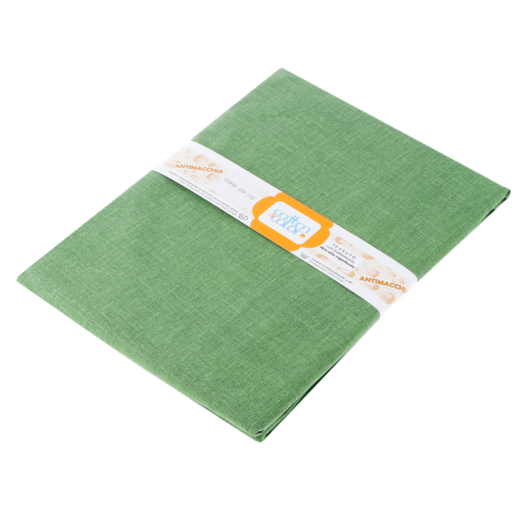 Скатерть Morbiflex casa green круглая d 170 см