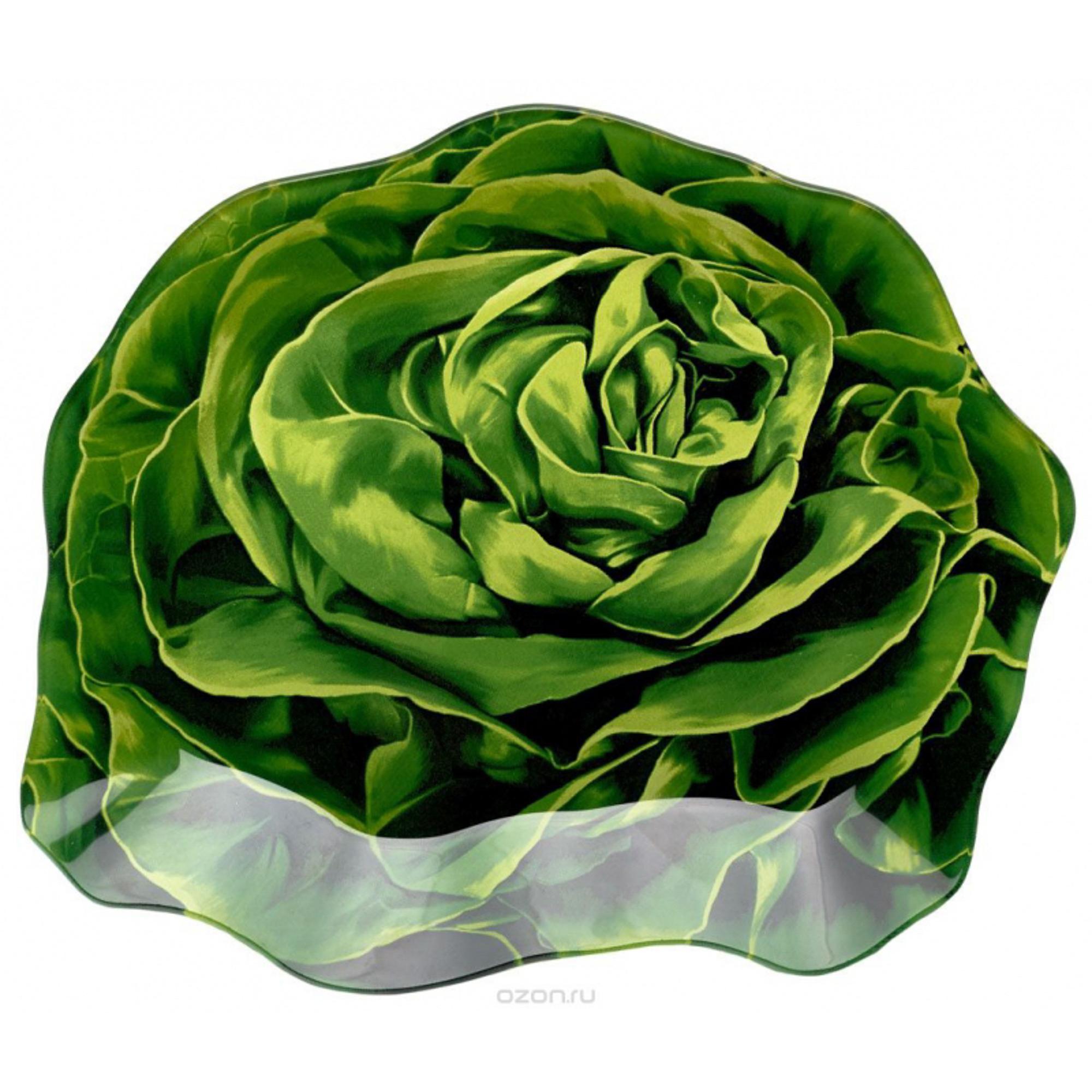 Блюдо сервировочное WALMER Lettuce 18 х 21 см girls lettuce edge trim ruffle hem pants