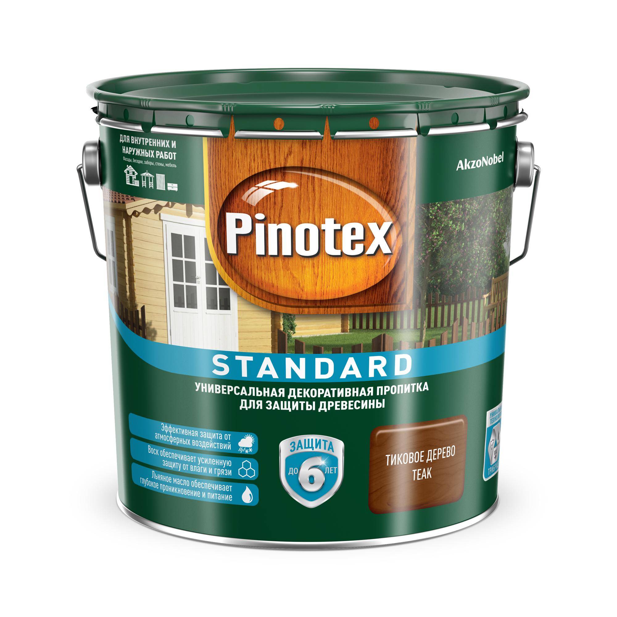 Фото - Пропитка Pinotex стандарт 2.7л тик евдокимов алексей тик