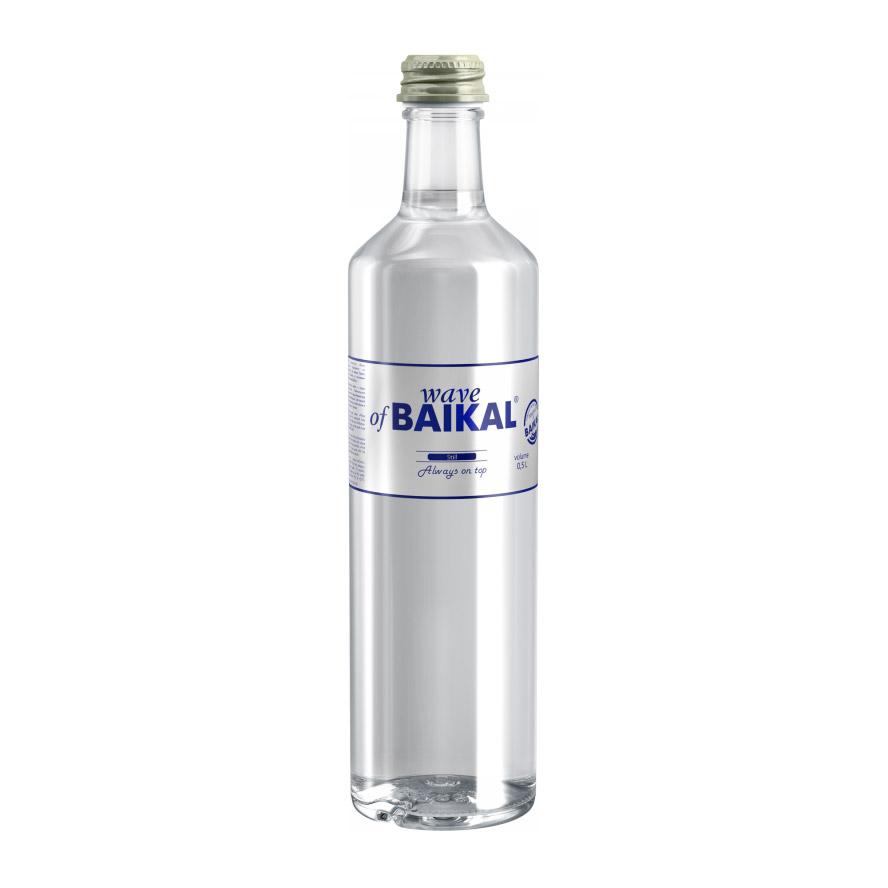 Вода минеральная Волна Байкала без газа 500 мл