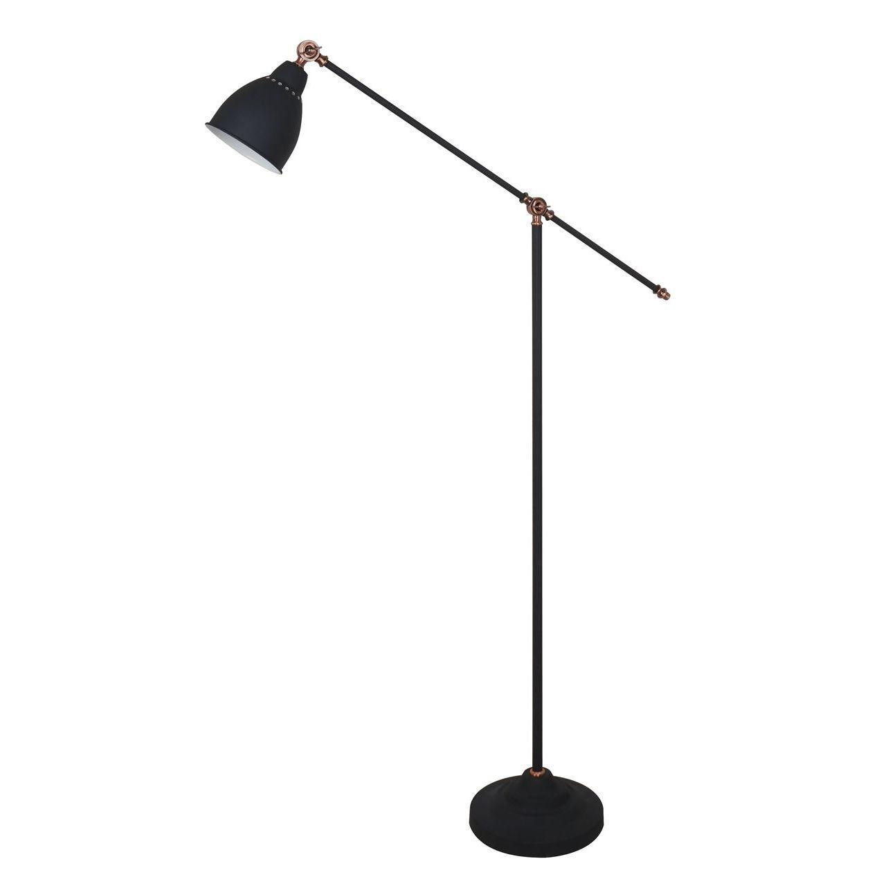 Торшер Arte Lamp Braccio A2054PN-1BK недорого