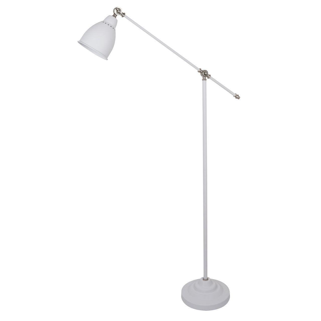 Торшер Arte Lamp Braccio A2054PN-1WH недорого