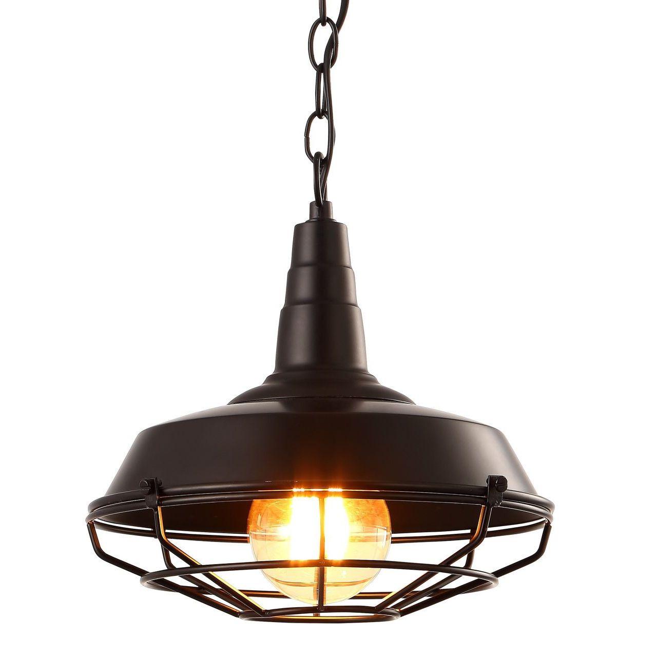 Подвесной светильник Arte Lamp Ferrico A9181SP-1BK