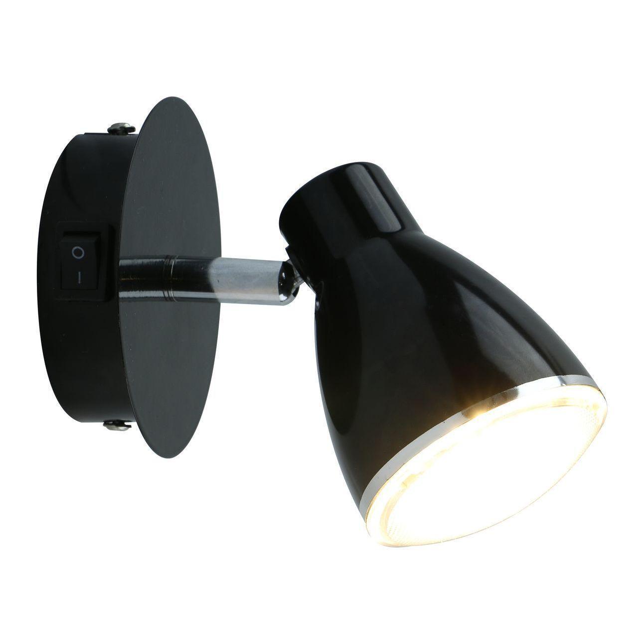 Светодиодный спот Arte Lamp Gioved A6008AP-1BK светодиодный спот arte lamp a7717pl 1bk