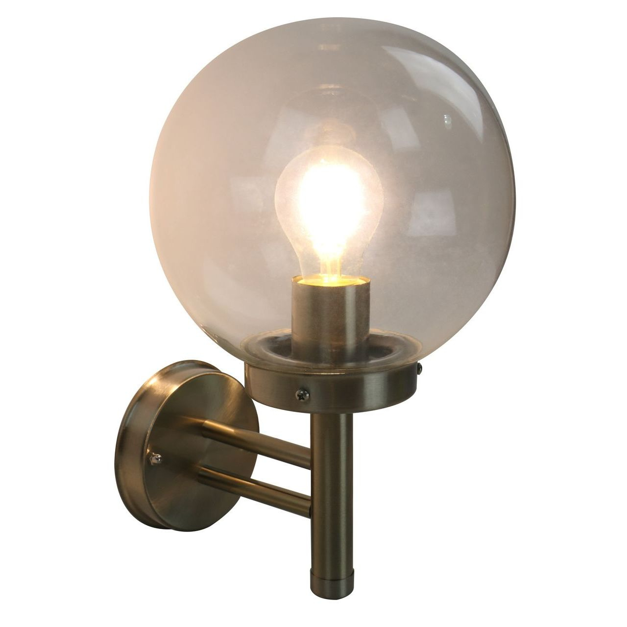 Фото - Уличный настенный светильник Arte Lamp Gazebo A8365AL-1SS arte lamp уличный настенный светильник intrigo a8161al 1ss