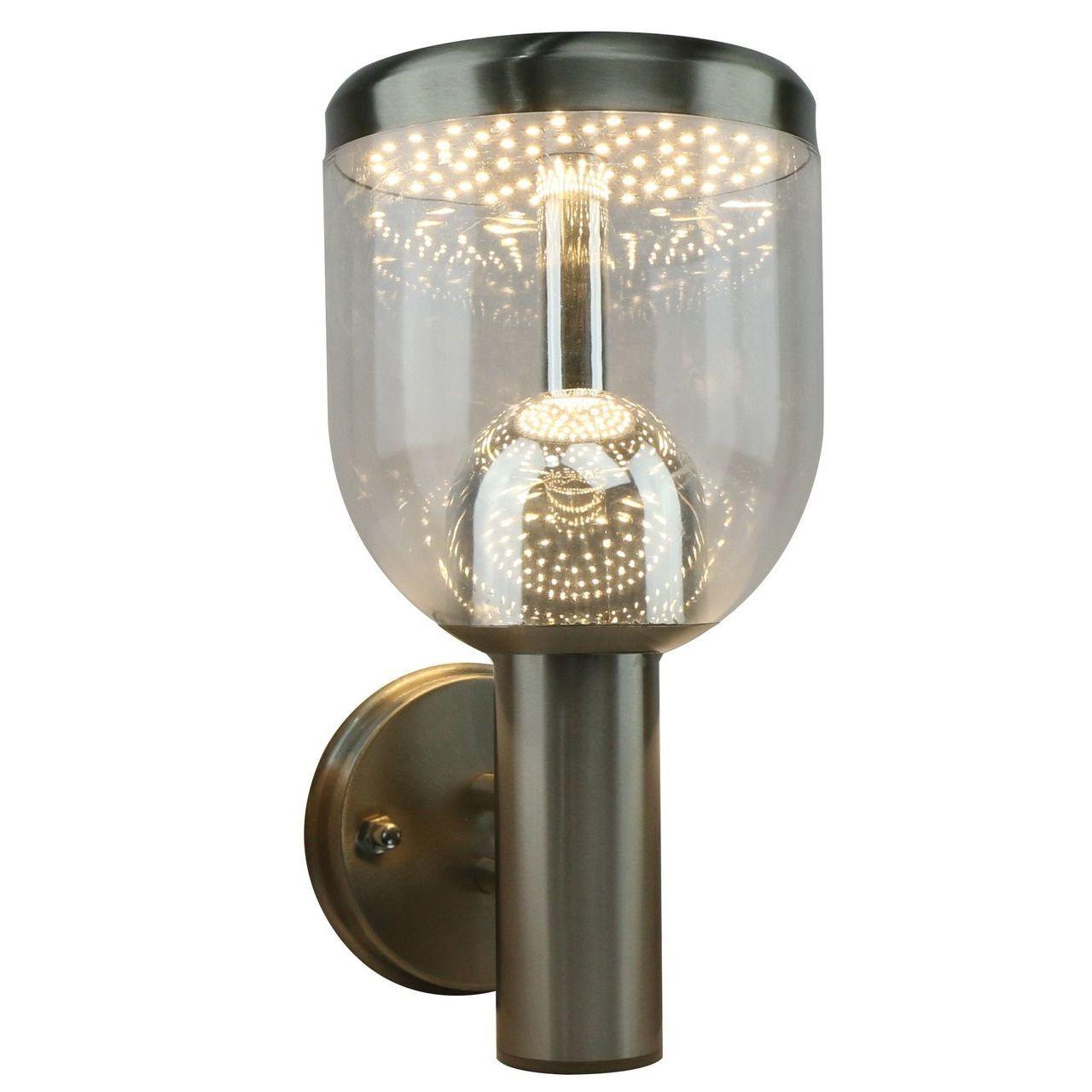 Фото - Уличный настенный светодиодный светильник Arte Lamp Inchino A8163AL-1SS arte lamp уличный настенный светильник intrigo a8161al 1ss