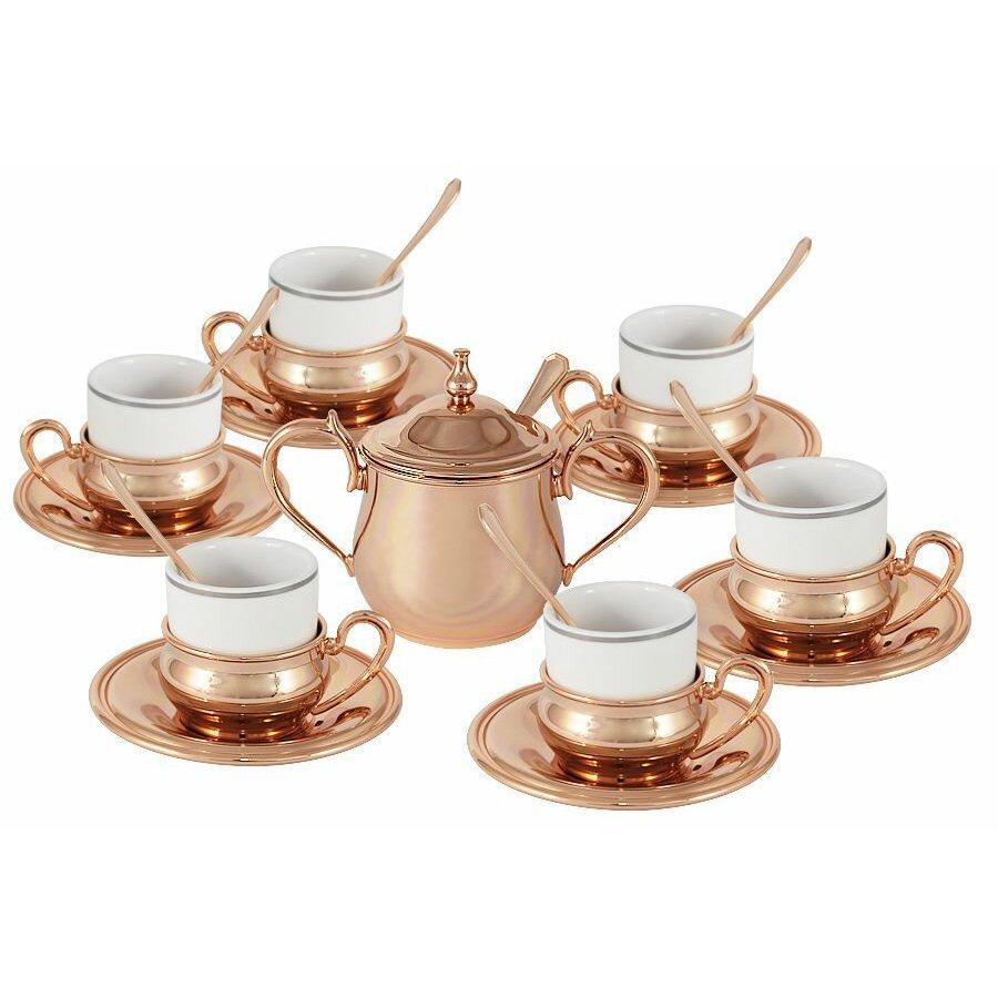 Набор кофейный Gamma из 20 предметов Экстра-люкс