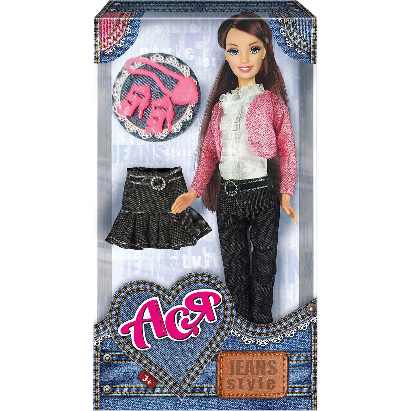 Кукла ToysLab Ася Джинсовый стиль 28 см.