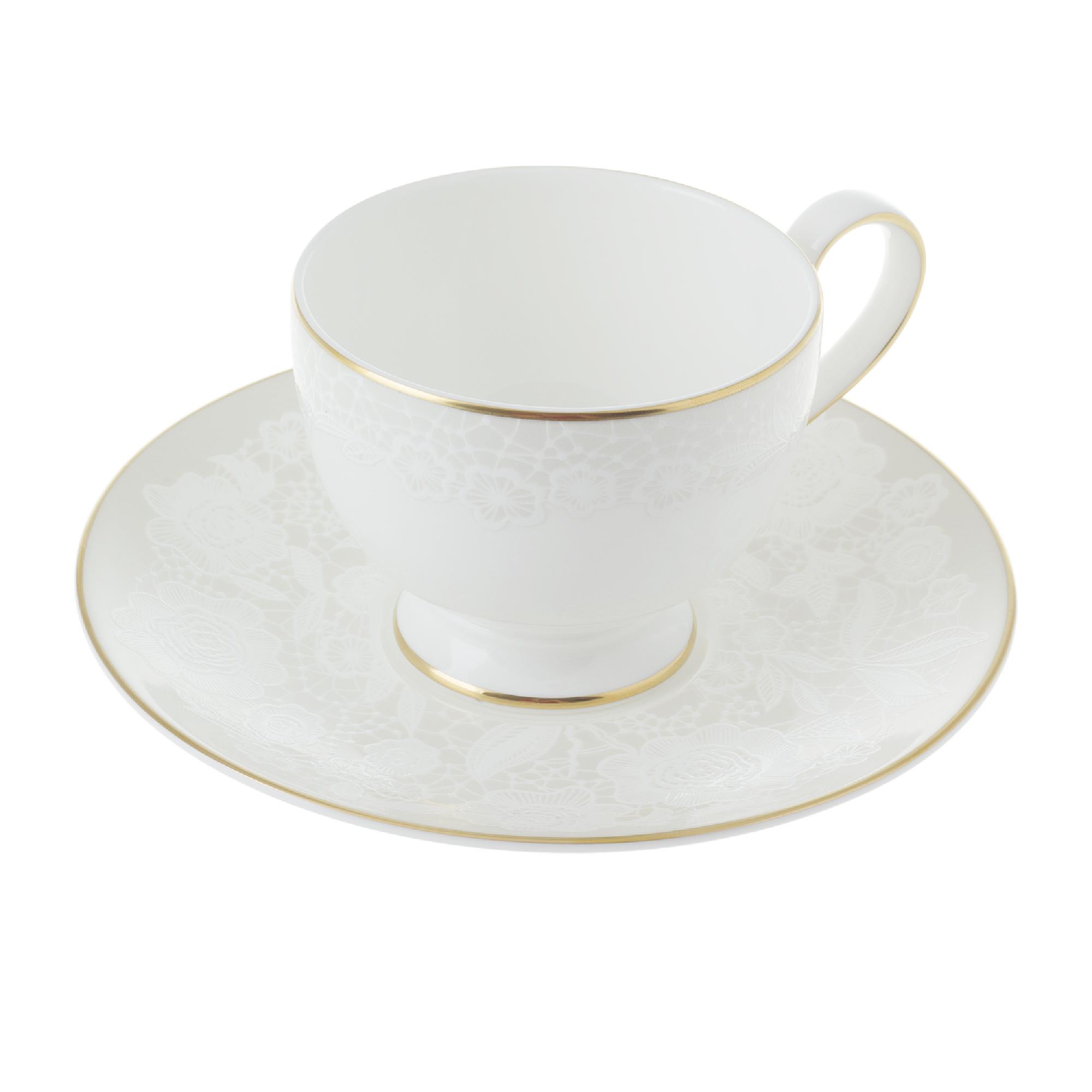 Набор чайный чашка 250 мл с блюдцем 6 шт Hankook