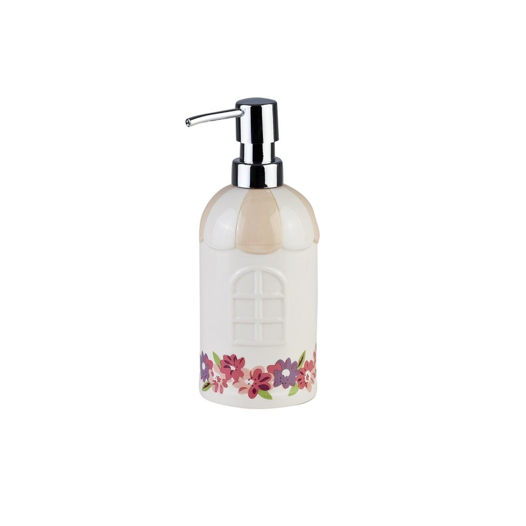 Дозатор для жидкого мыла PRIMANOVA garden дозатор для жидкого мыла le bain gris